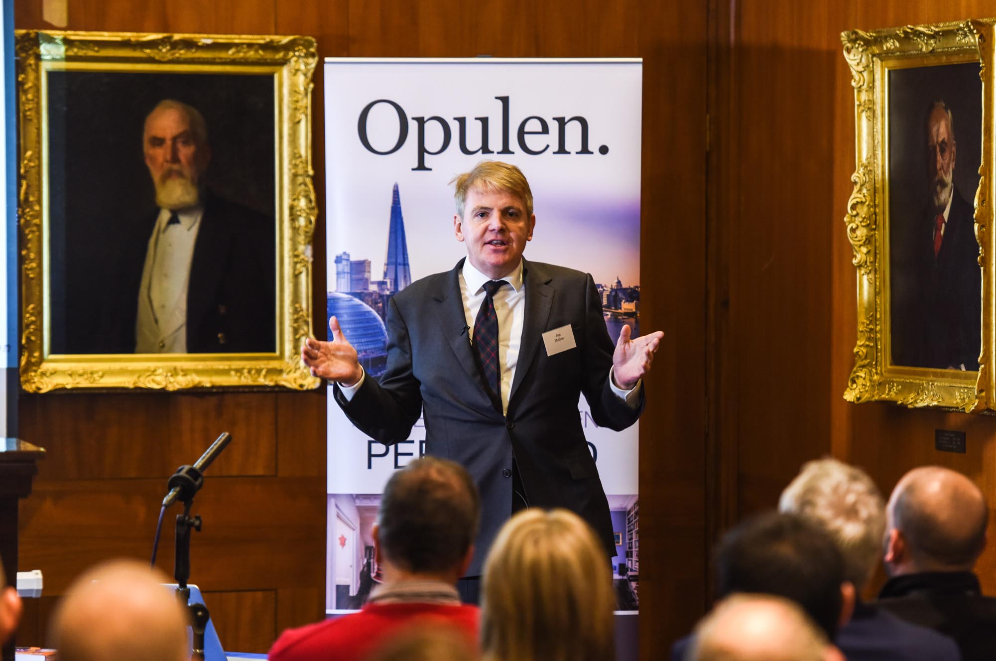 World class investor Jim Mellon sold out but we filmed it - go to 'News' page