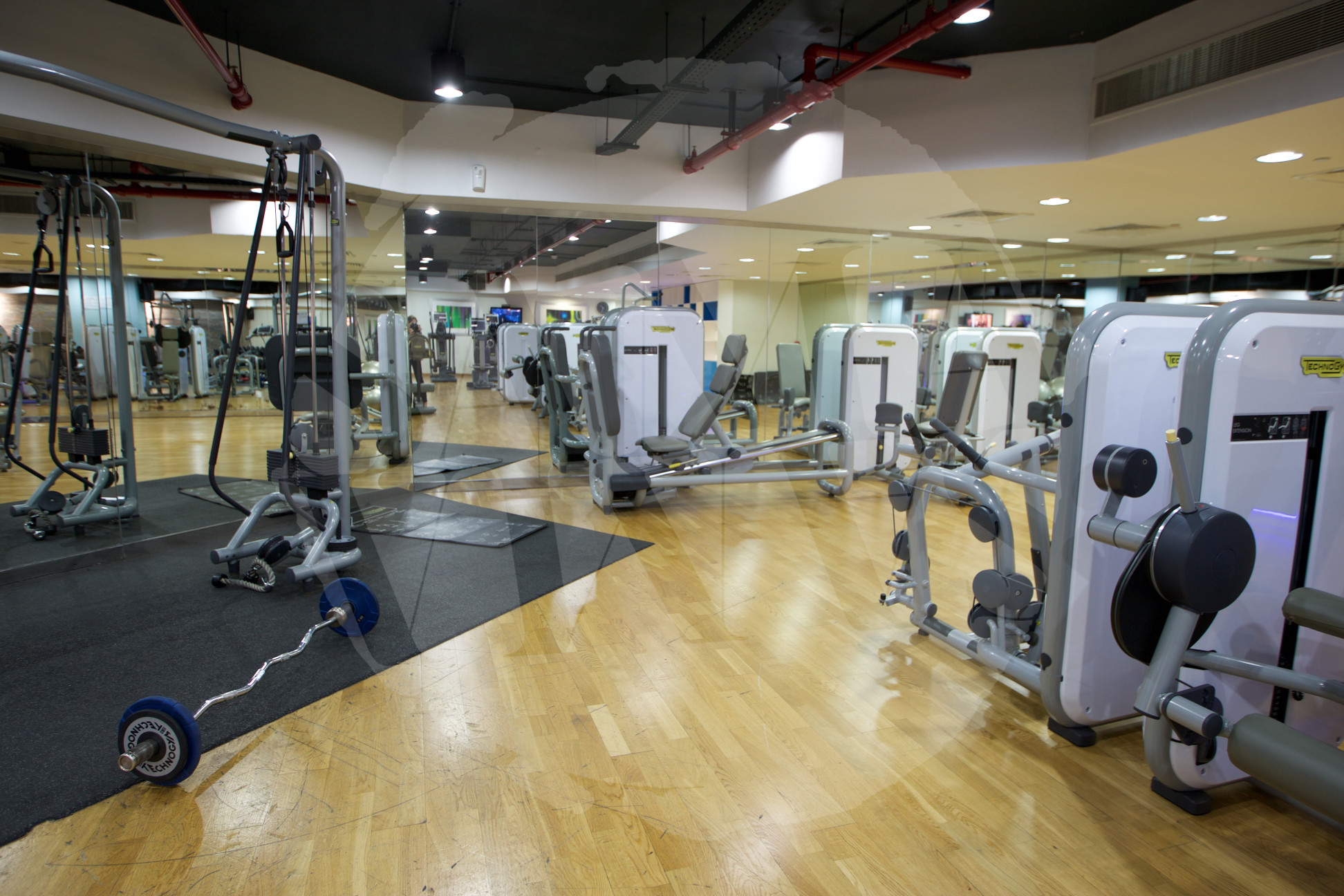 ... well-equipped gym to visit...!