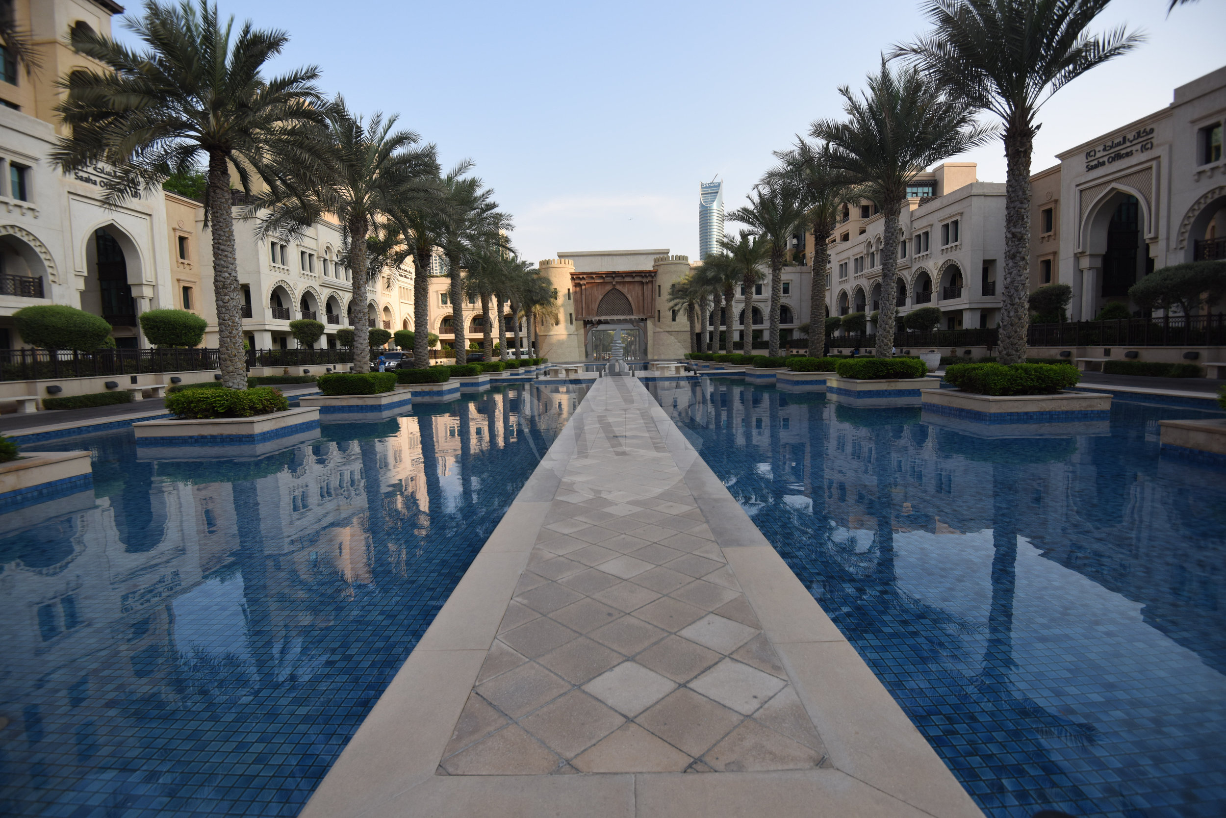 The building is authentically Arabic in its style and design, its tranquil setting help you forget you are in the centre of the city!