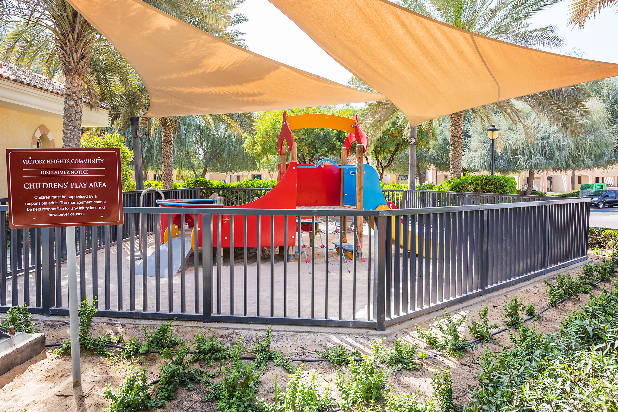 Community children's play area