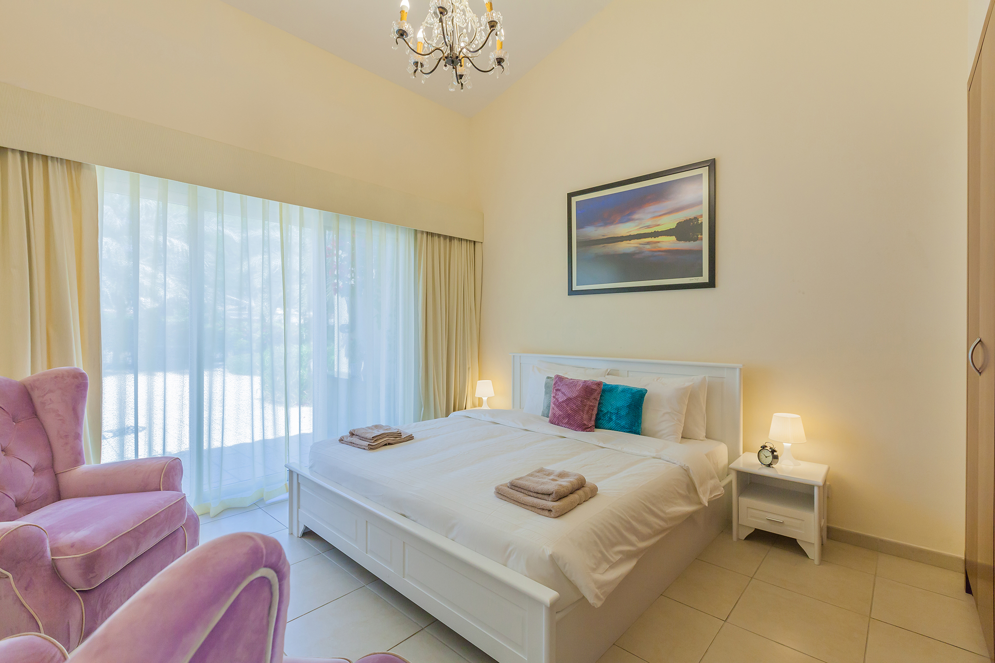 Third bedroom with cute and trendy style