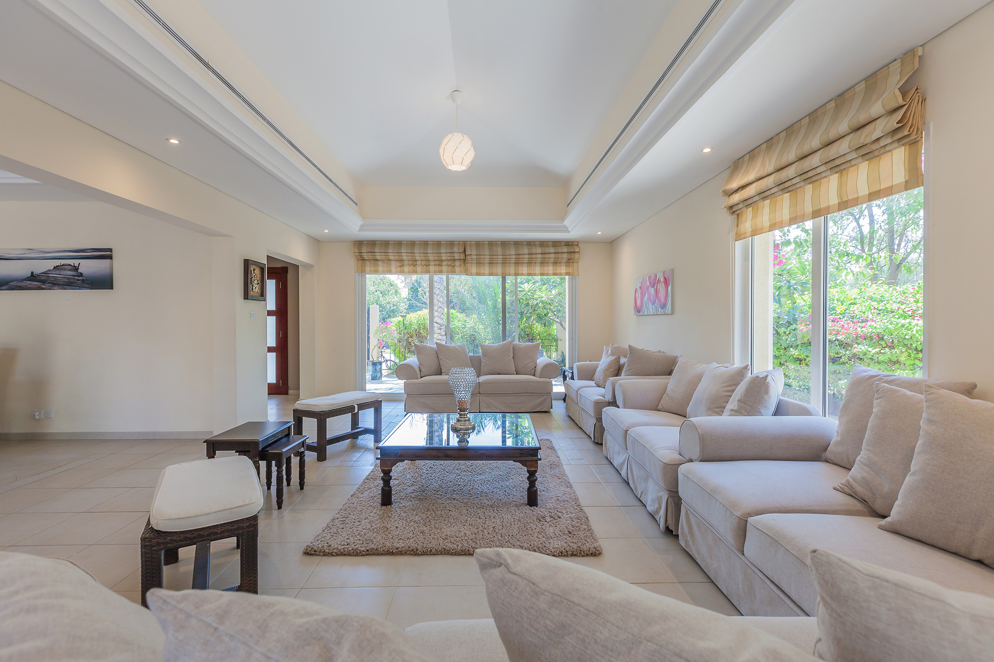 Massive living area perfect for family time