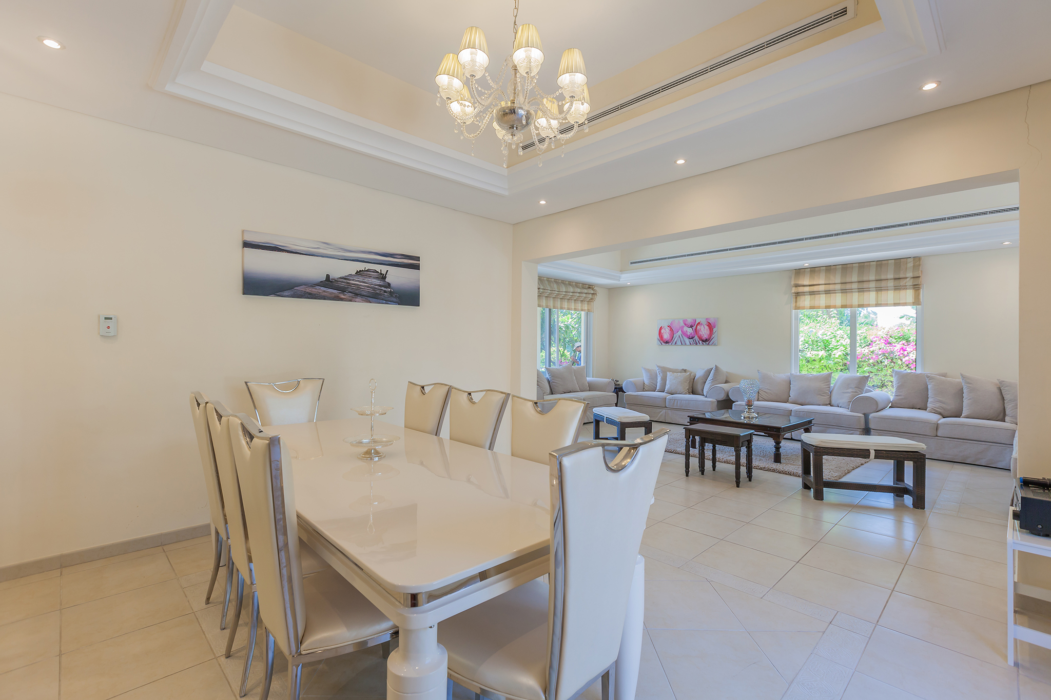 Enjoy your home cooked meal in this lovely dining