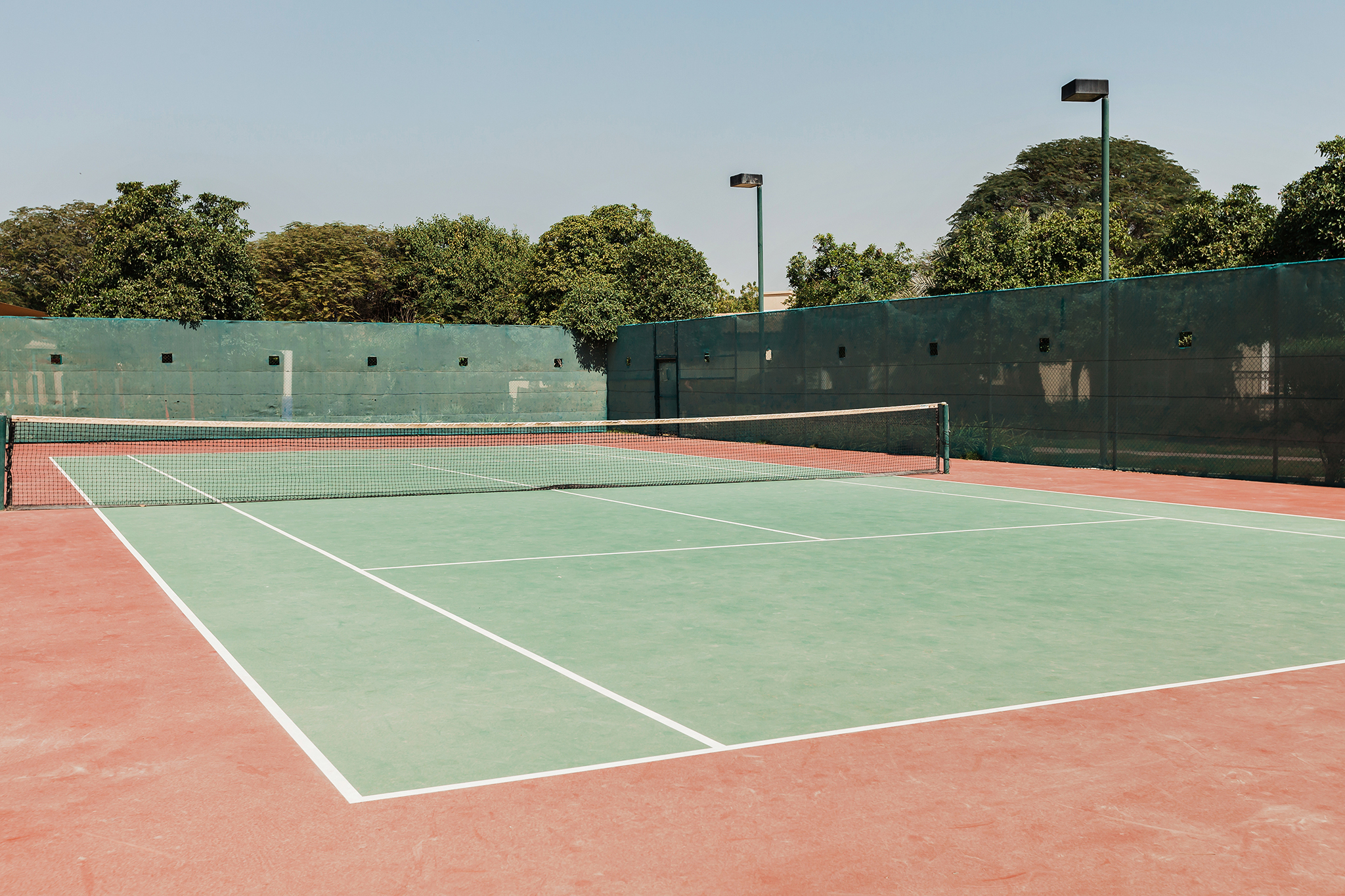 Play tennis and have fun under the sun!