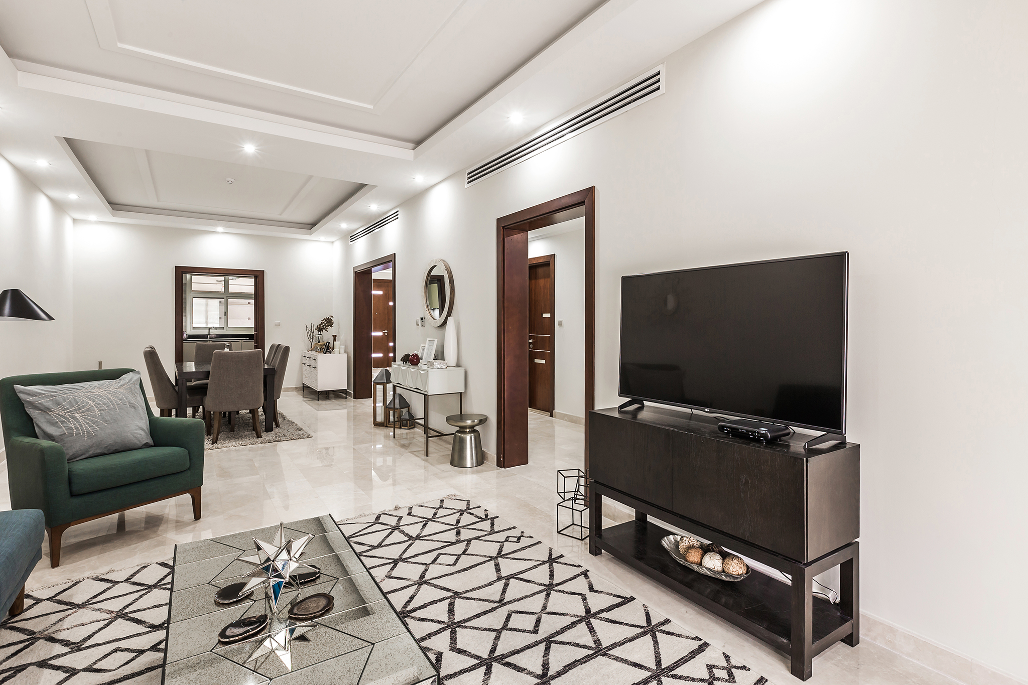 Indulge with family in this lofty living area