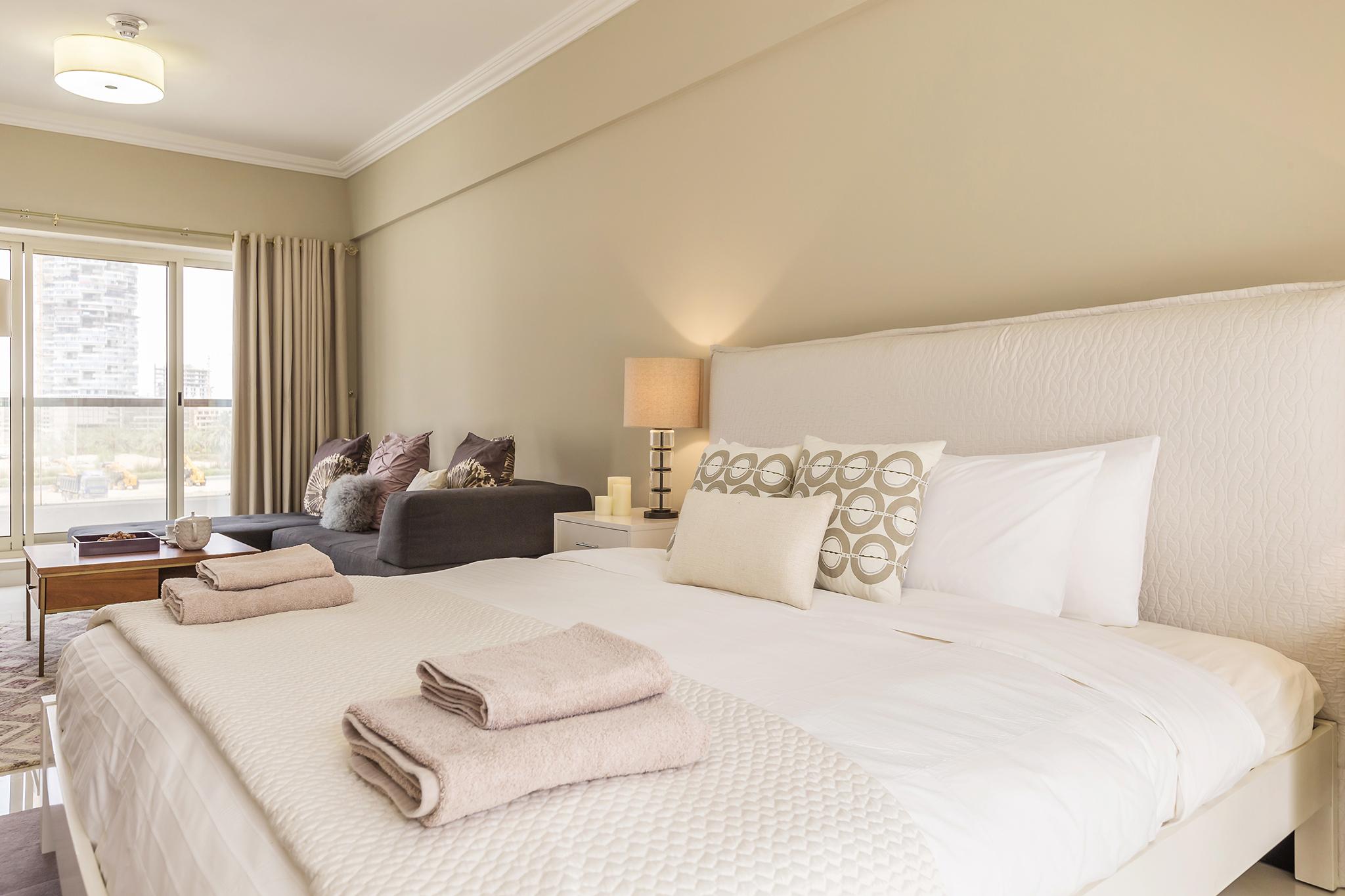 Sophisticated Master bedroom