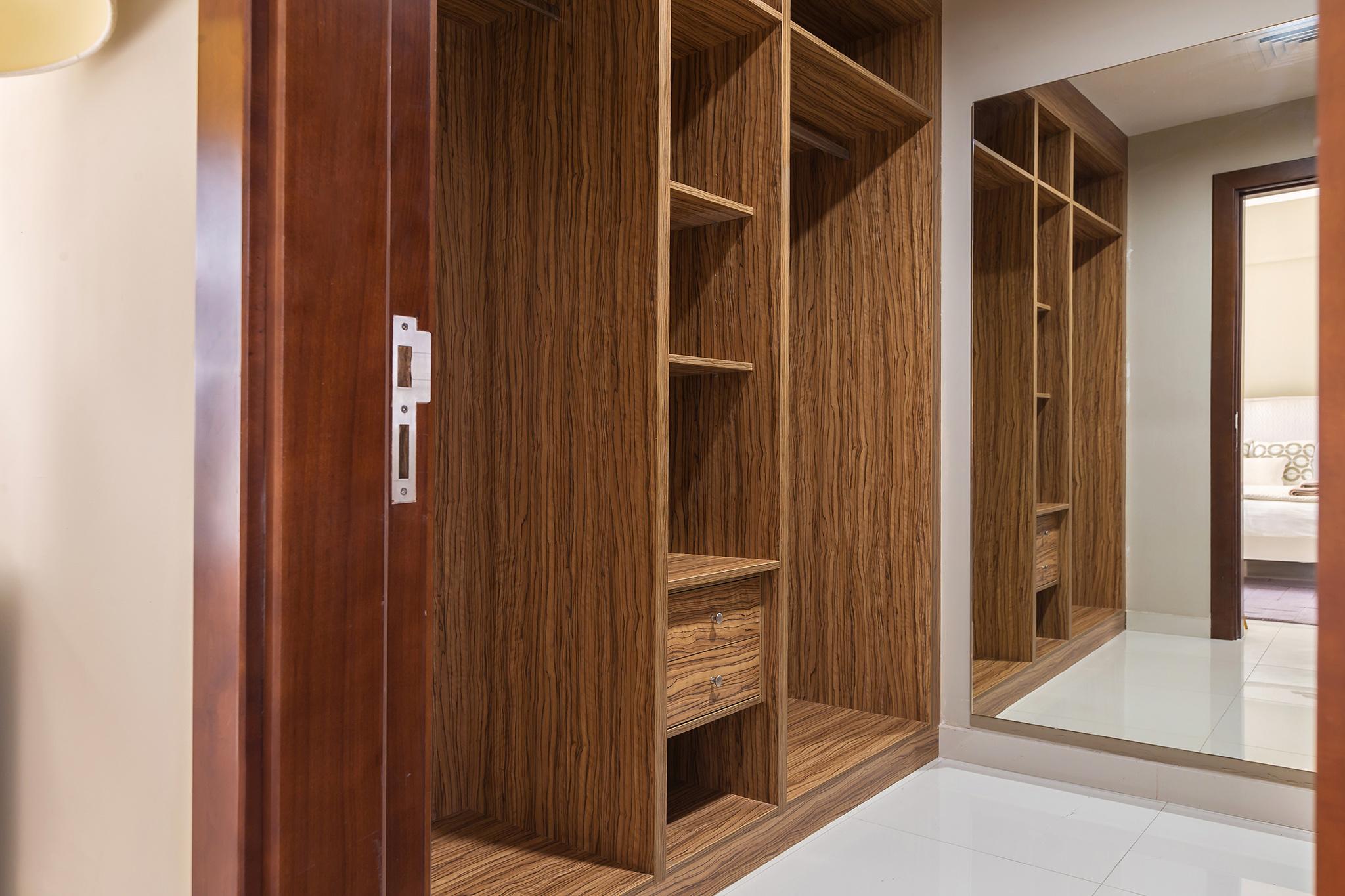 Deluxe built-in wardrobe for each bedroom