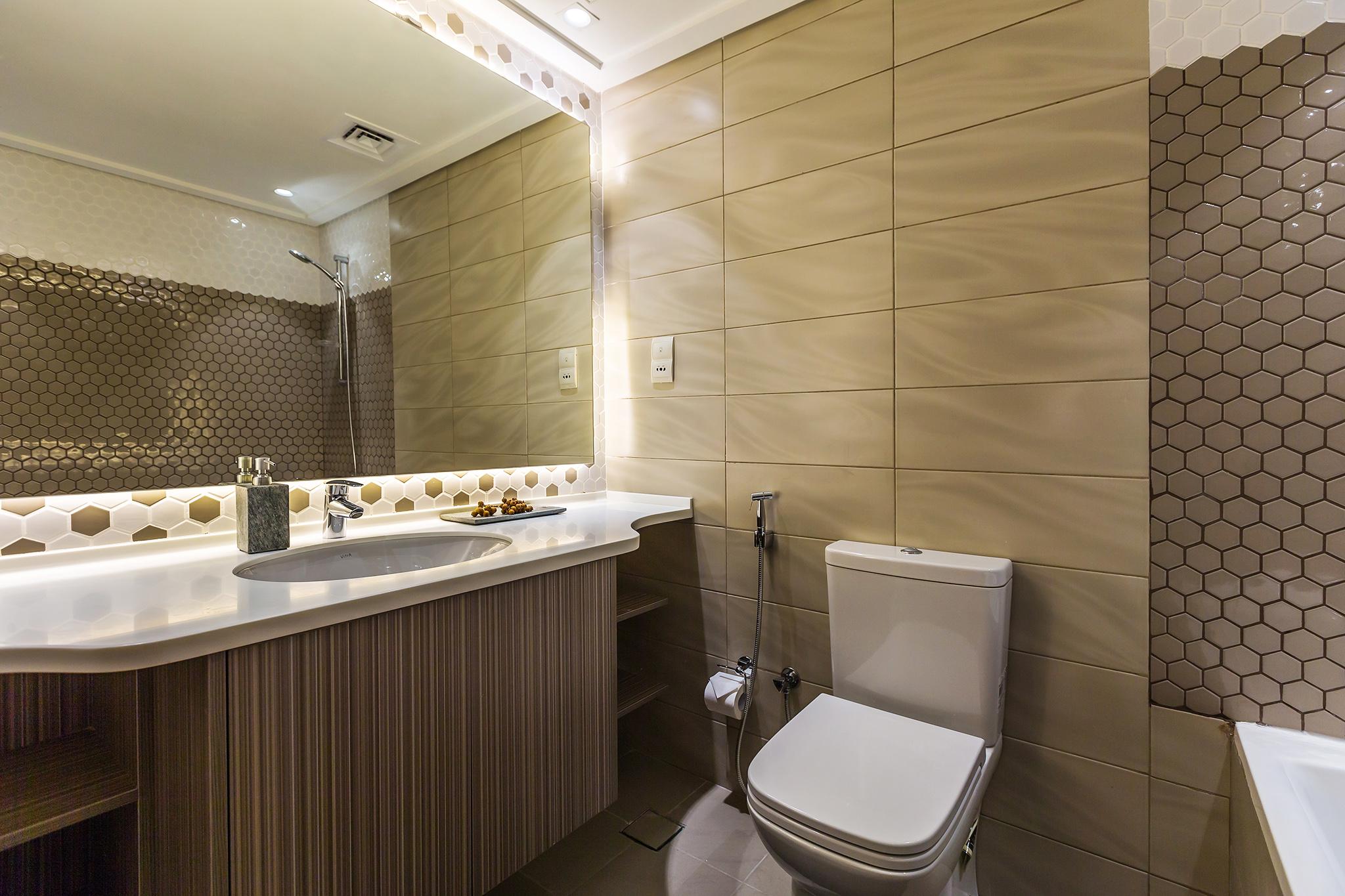 En-suite for each bedroom with contemporary design