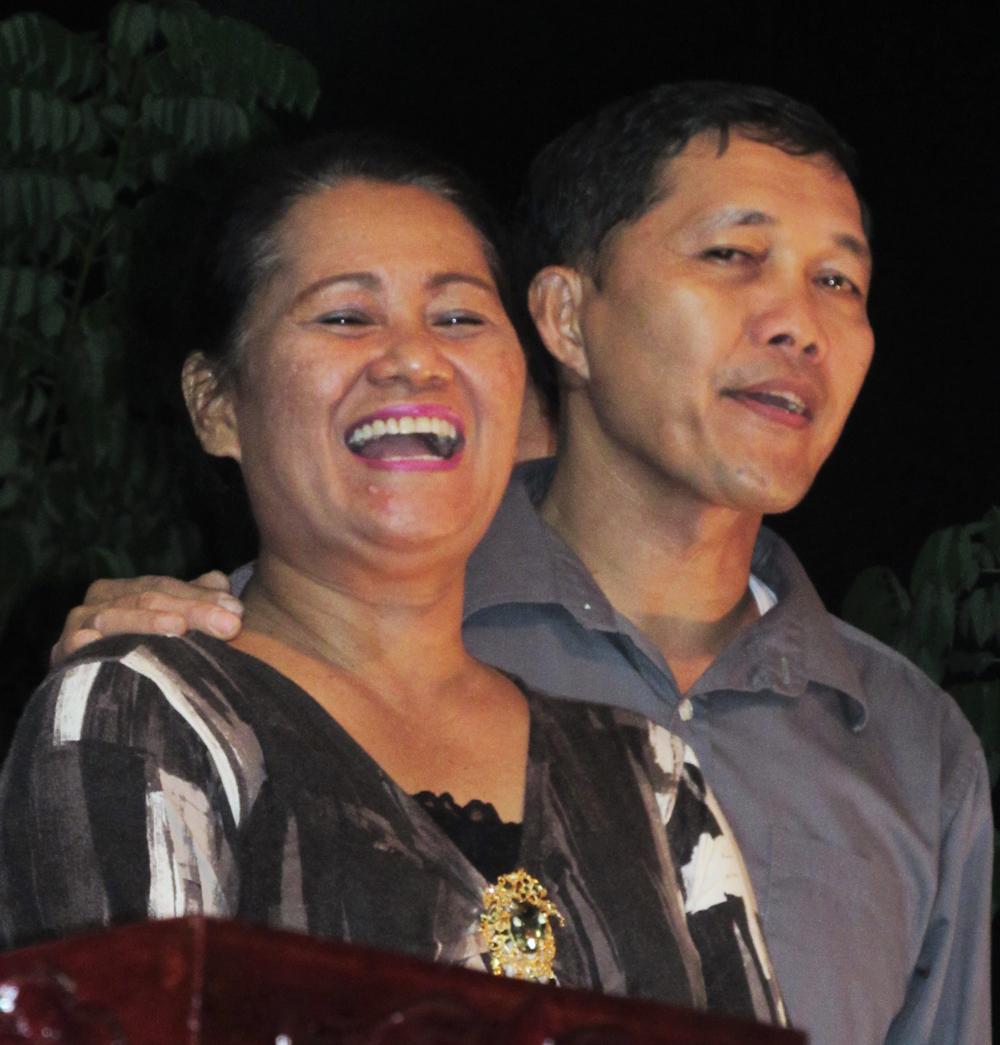 Bonifar and Lilian Abanel