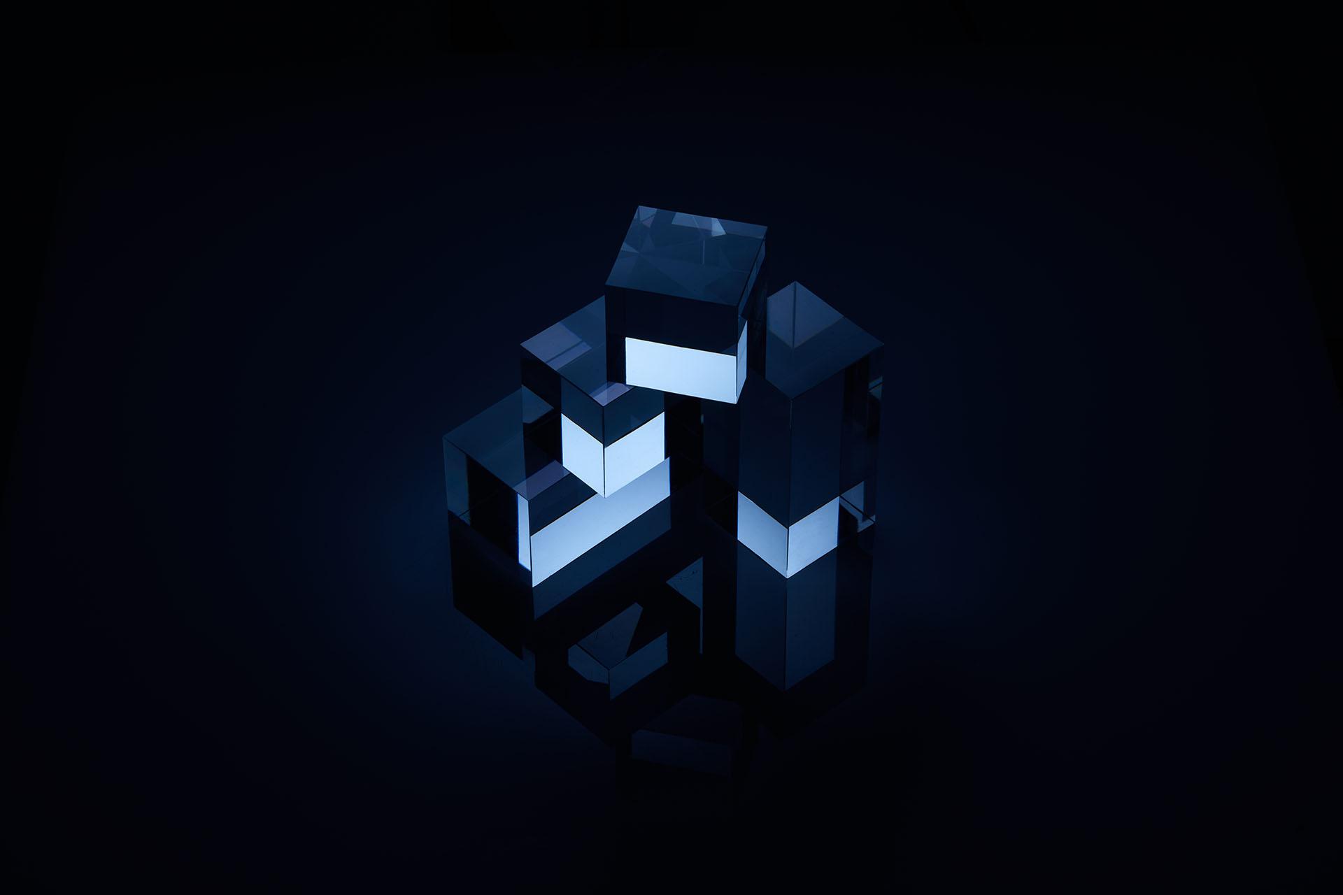 Blue Cubes 2