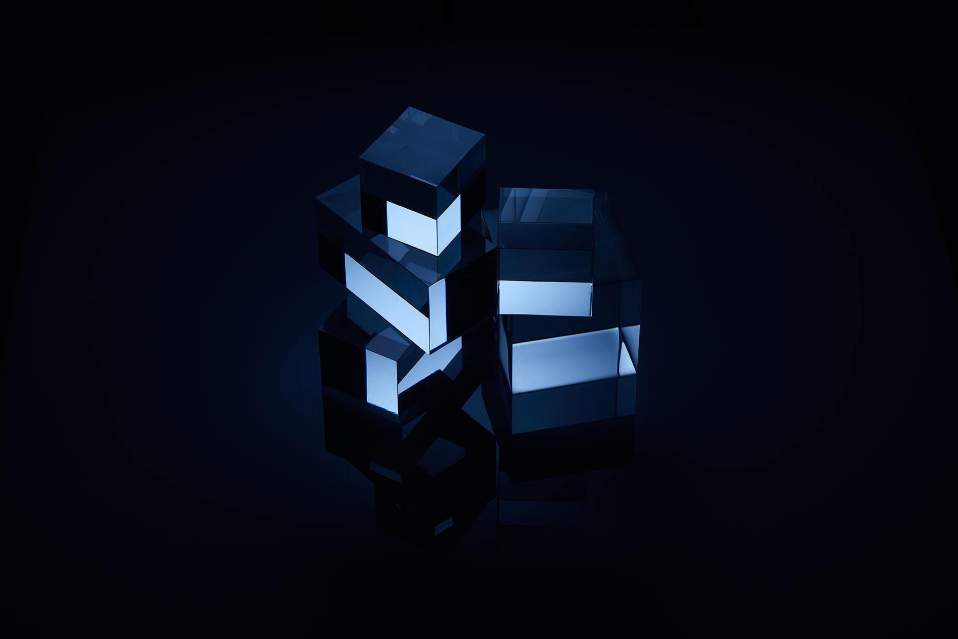 Blue Cubes 3