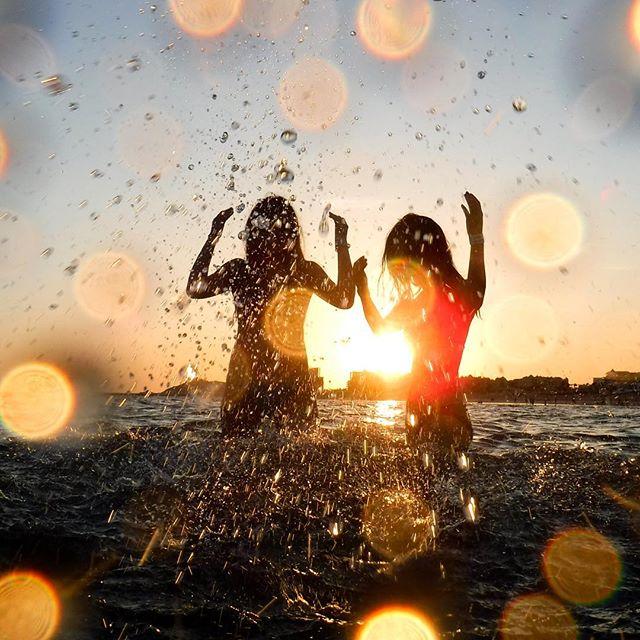 #sunset #beach #ocean #rockypoint #vacation