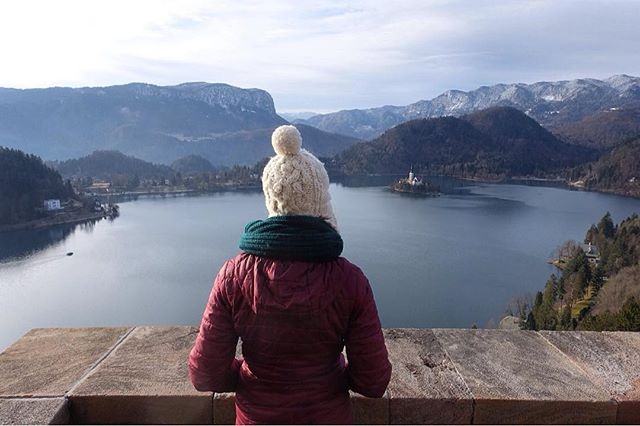 When we visited Lake Bled in December, it was pretty cold, and walking around the lake was about all we were up for, despite all of the layers we had on! We were both glad we ended up deciding to go in Bled Castle, though, as the views over the area were definitely worth it, and there wasn't any climbing or hiking involved - great for those short on time or wimpy in the cold! 😉