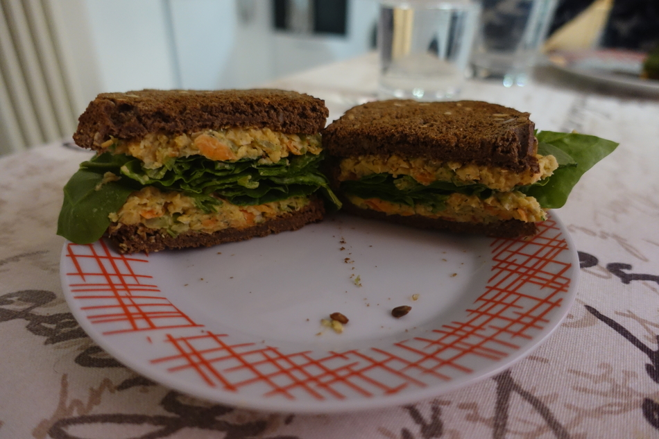 eating lately lentil and chickpea salad sandwich.jpg