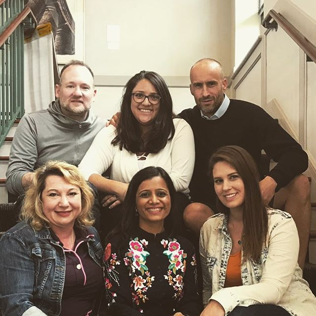 """Six individuals from four countries representing six different cultures while sharing one goal - """"to create positive sustainable change through human systems in the world. So individuals and our environment can flourish and thrive"""". #mpod15 #cwru #inclusion #family #toronto #bogota #detroit #newyork #mumbai #erie #leuven #leadership #organizationdesign #organizationdevelopment #business #consulting #goodtimes"""