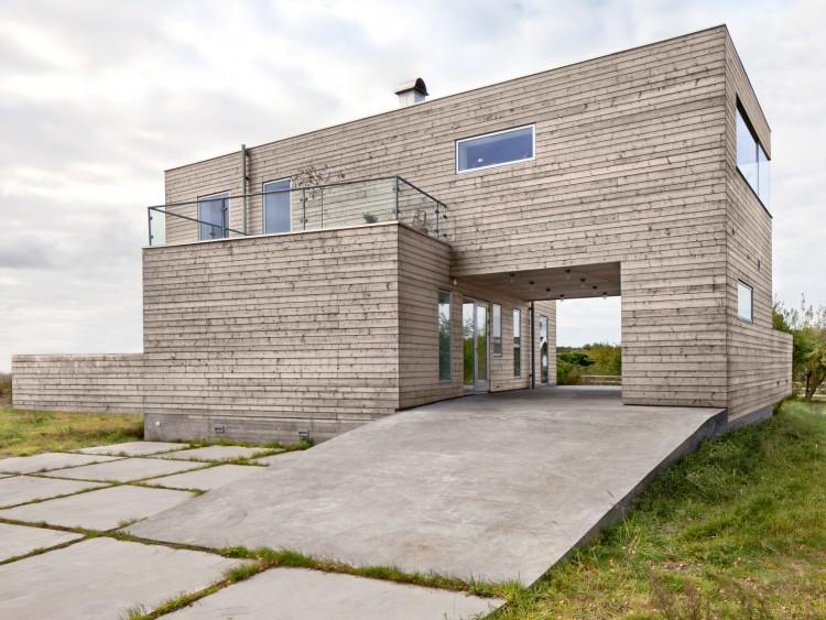 Beach Box, en av kandidaterna till Sveriges mest spännande hus.Foto: Carl Ander.