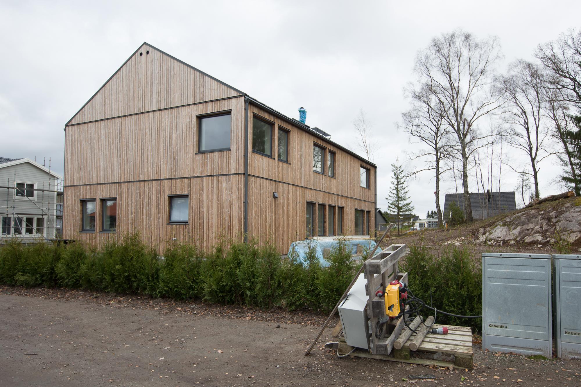 Kustvillan Villa Nyköping Kebony
