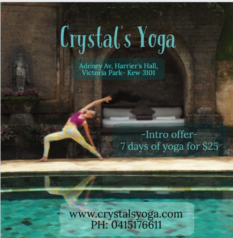 Crystal's Yoga