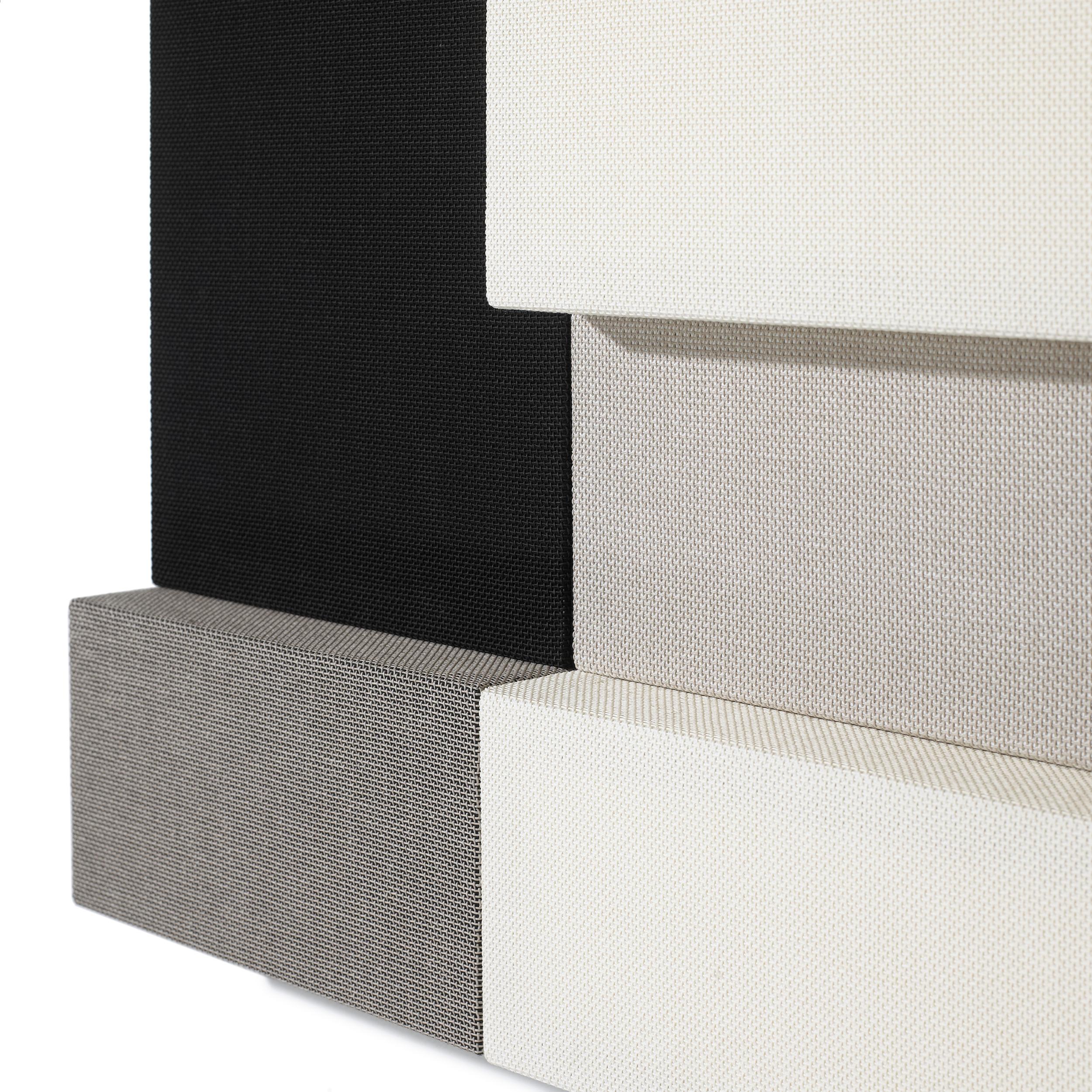 Whisper acoustic panels depth. 4 and 10 cm