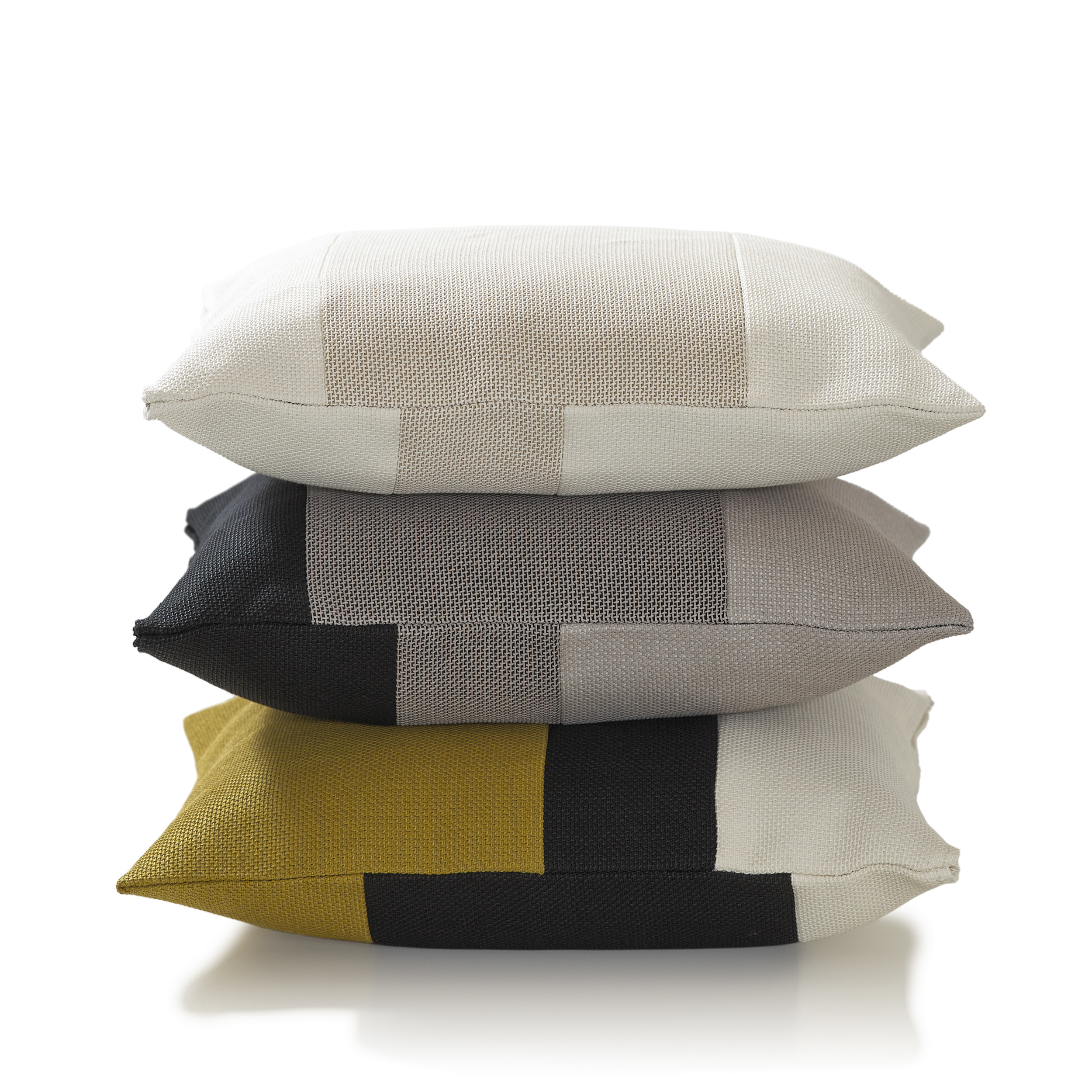 Rest Cushions three different colours