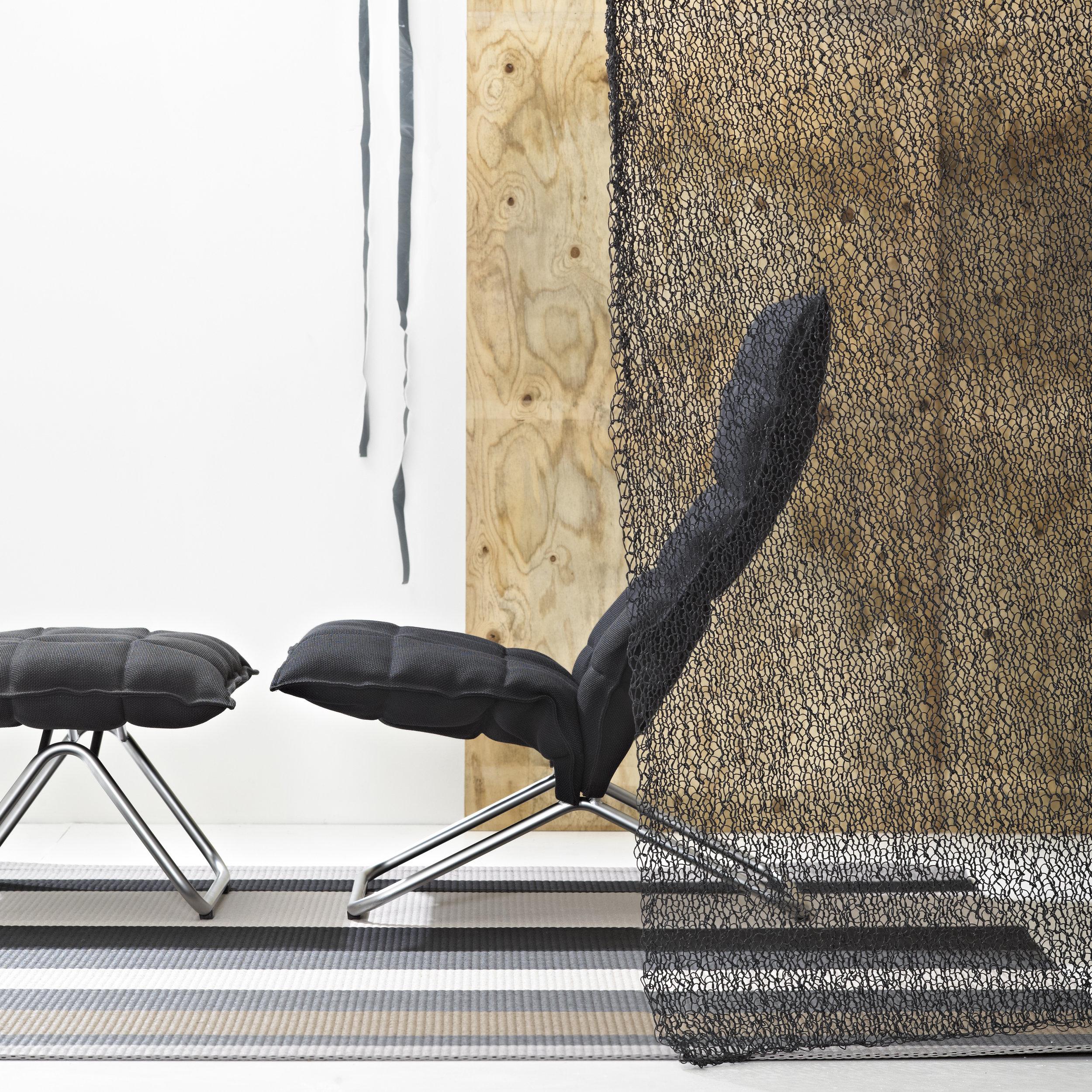 47240 SEABORN graphite room divider