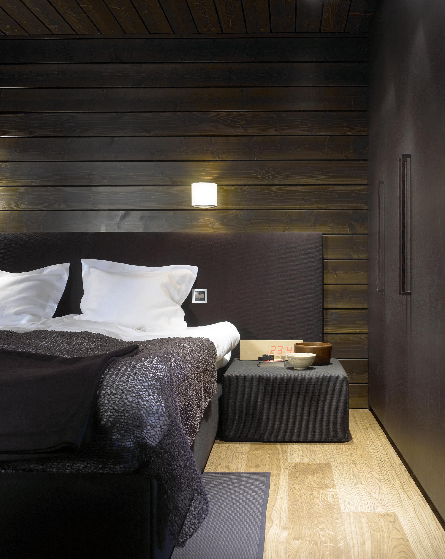 47001C Woodnotes Bed Headboard, Seaborn 47208 wenge, 435 Cool cushion, 132132 Coast dark violet-grey paper yarn carpet