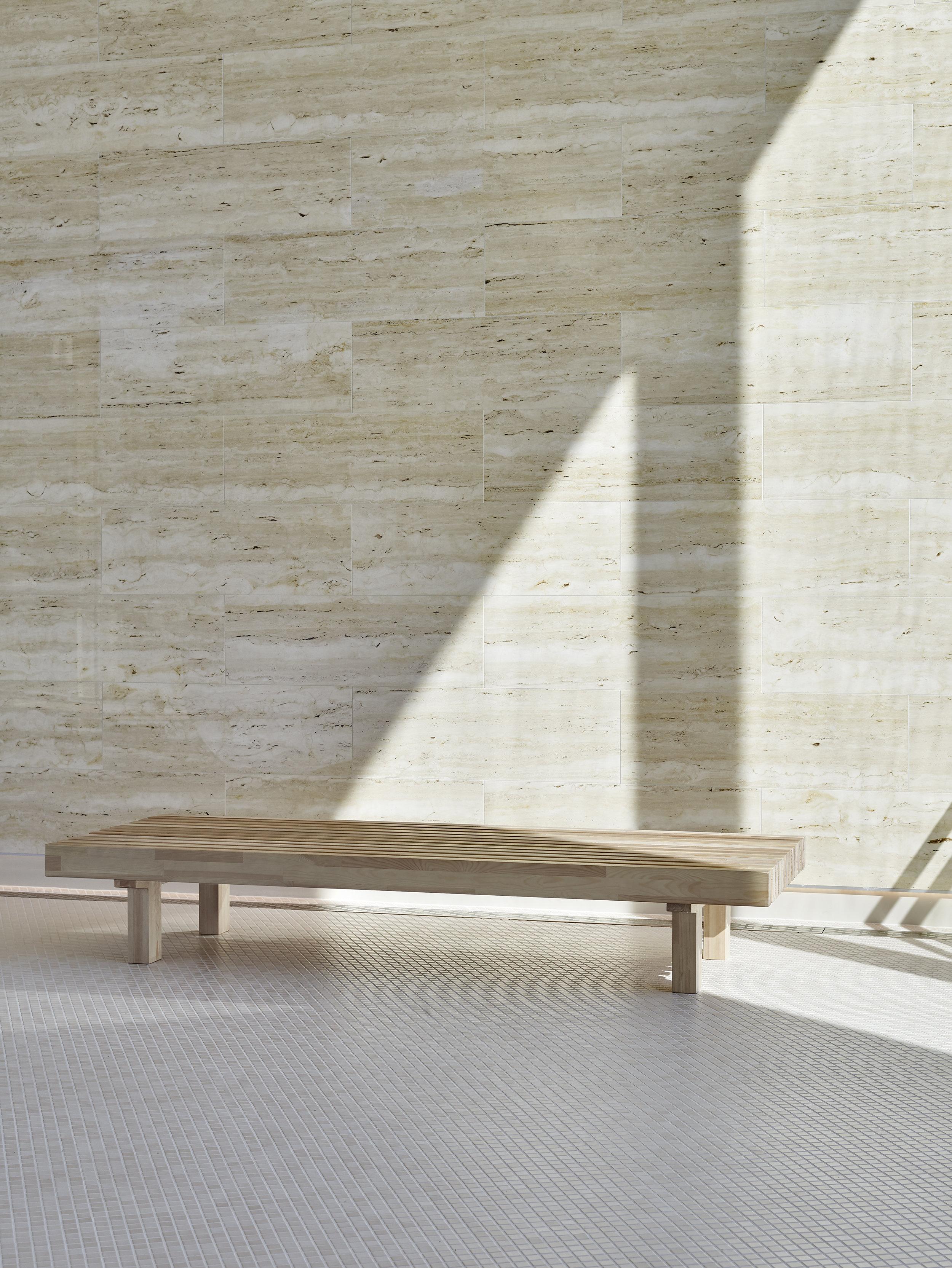 Laveri  bench 80x200 cm.