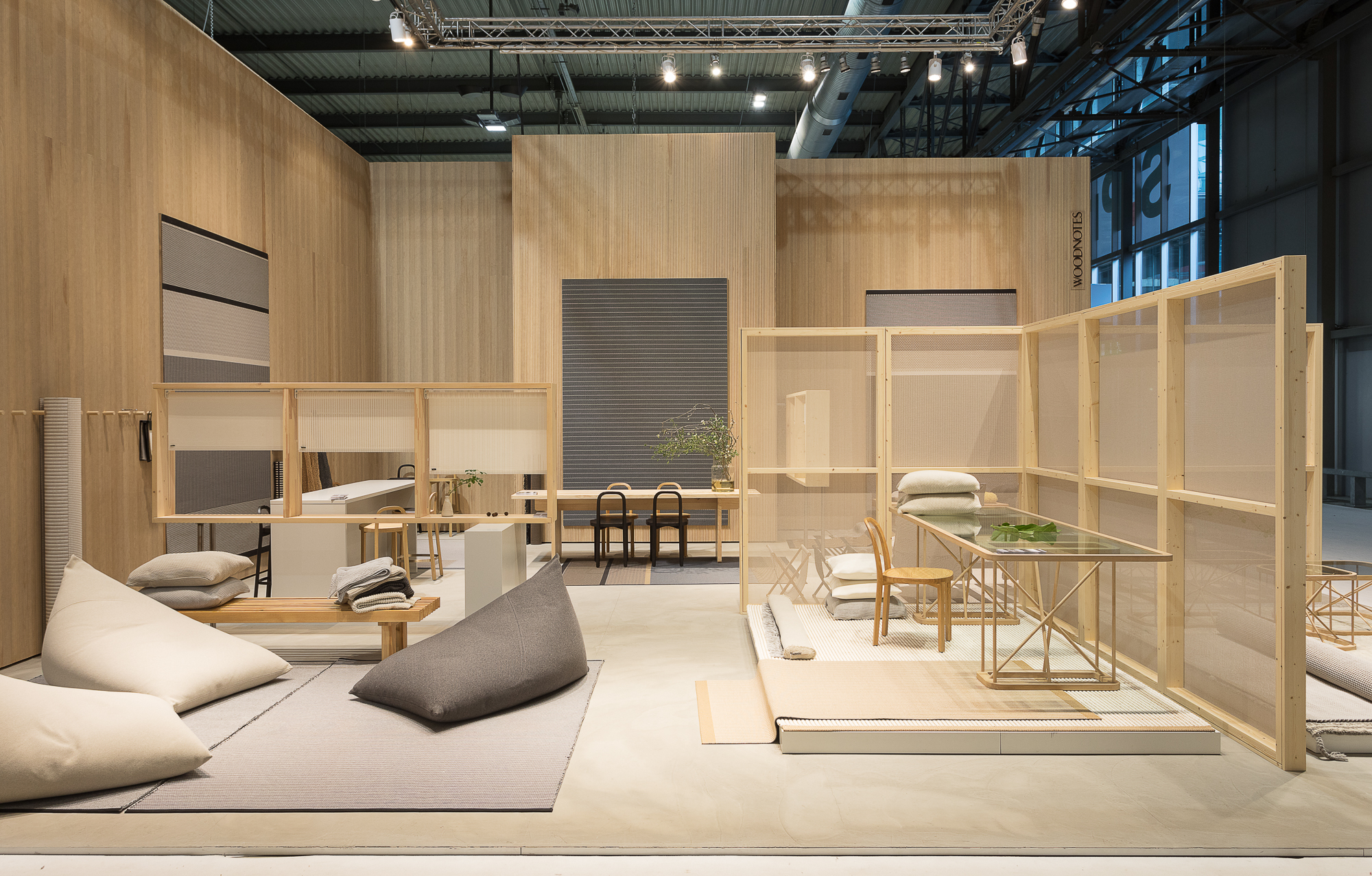 Woodnotes at Milan S.Project 2019_stand view_3