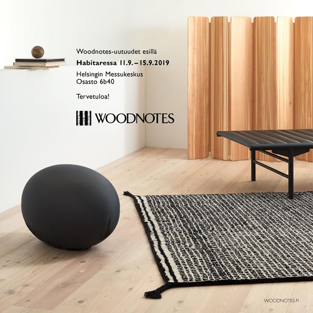 Habitare 2019_Woodnotes_invitation