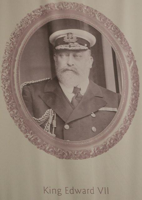 King Edward VII (image courtesy of  Thomas's Pics)