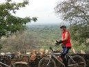 A rider photographs me as I arrive at the top.