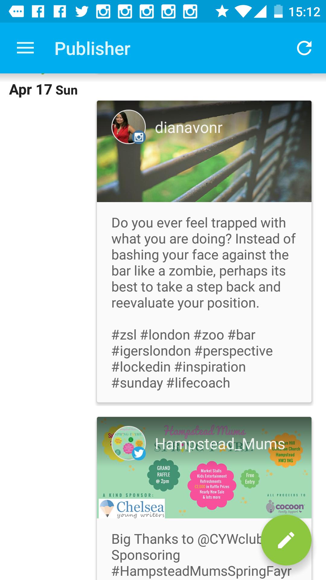 Hooteuite Instagram Apps DianavonR Social Media Tips