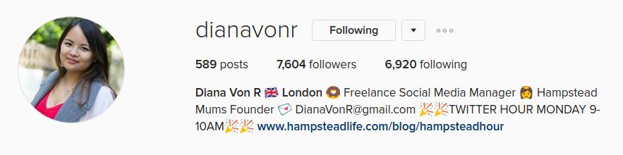 Diana von r instagram