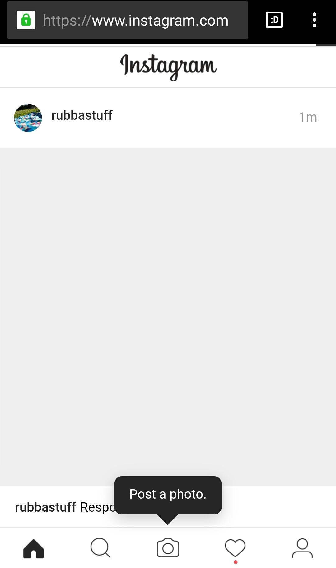 instagram post browser