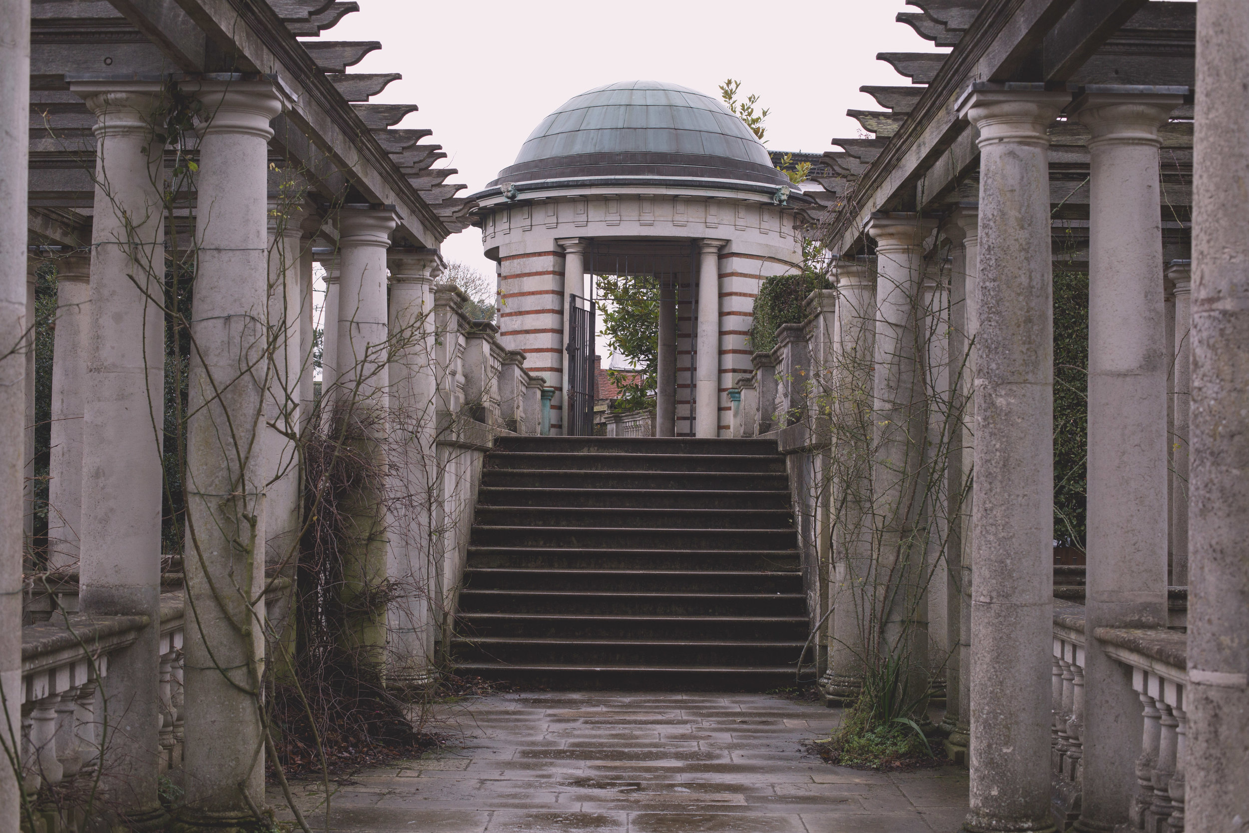 Pergola Hill Garden Hampstead