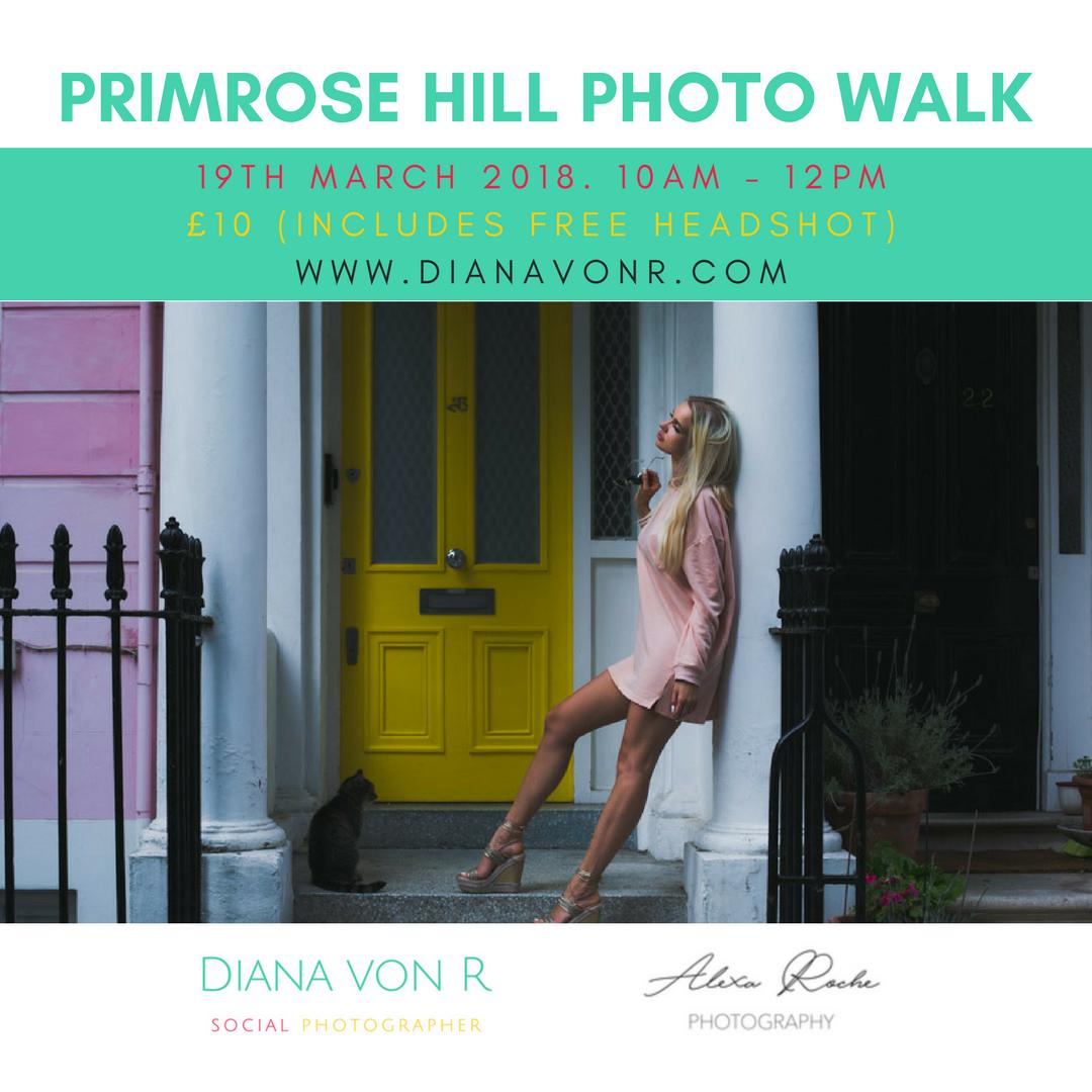 Primrose Hill Photo Walk 19th March 2018