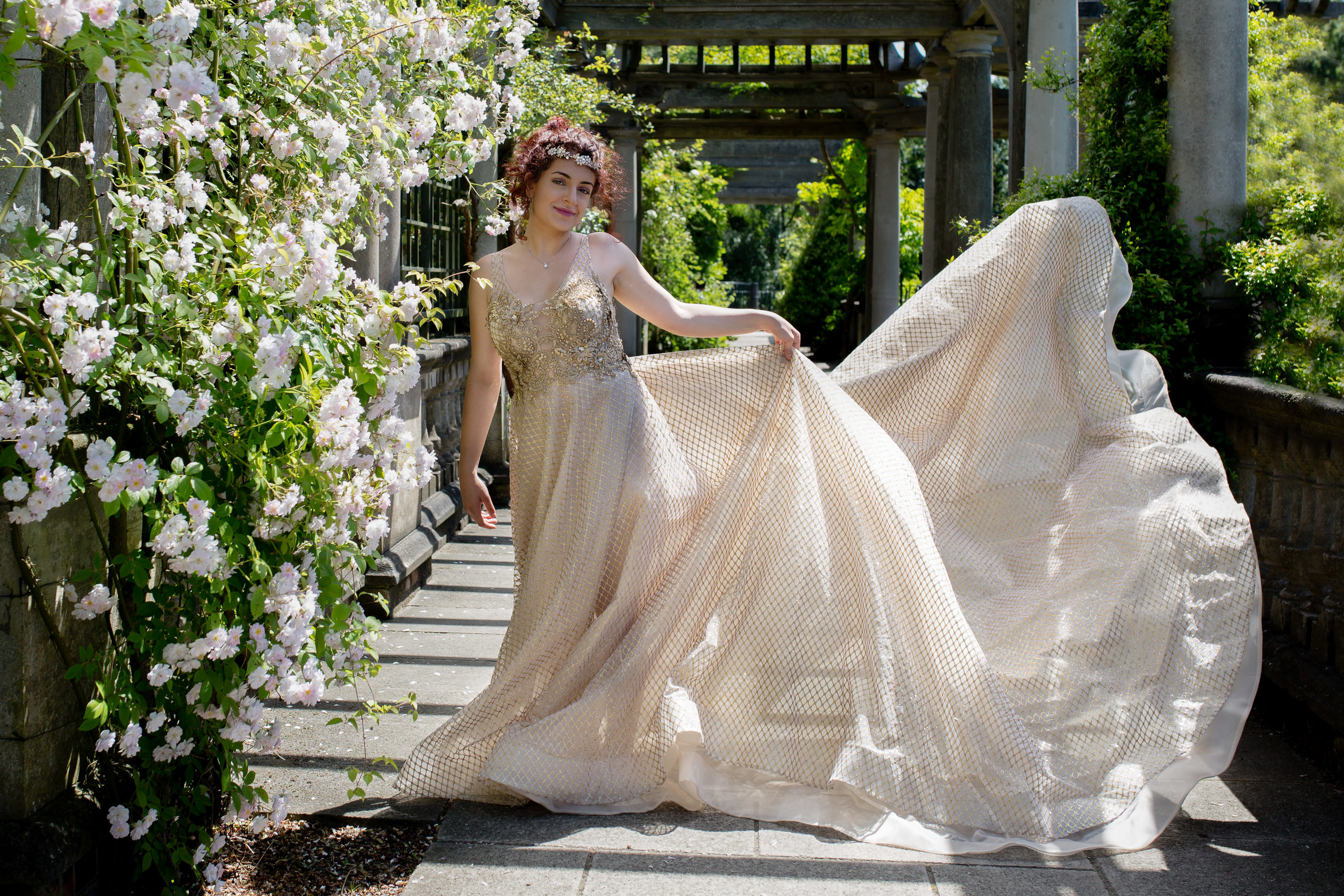 Dress Me Couture Pergola Hill Garden Wedding Dress Hampstead