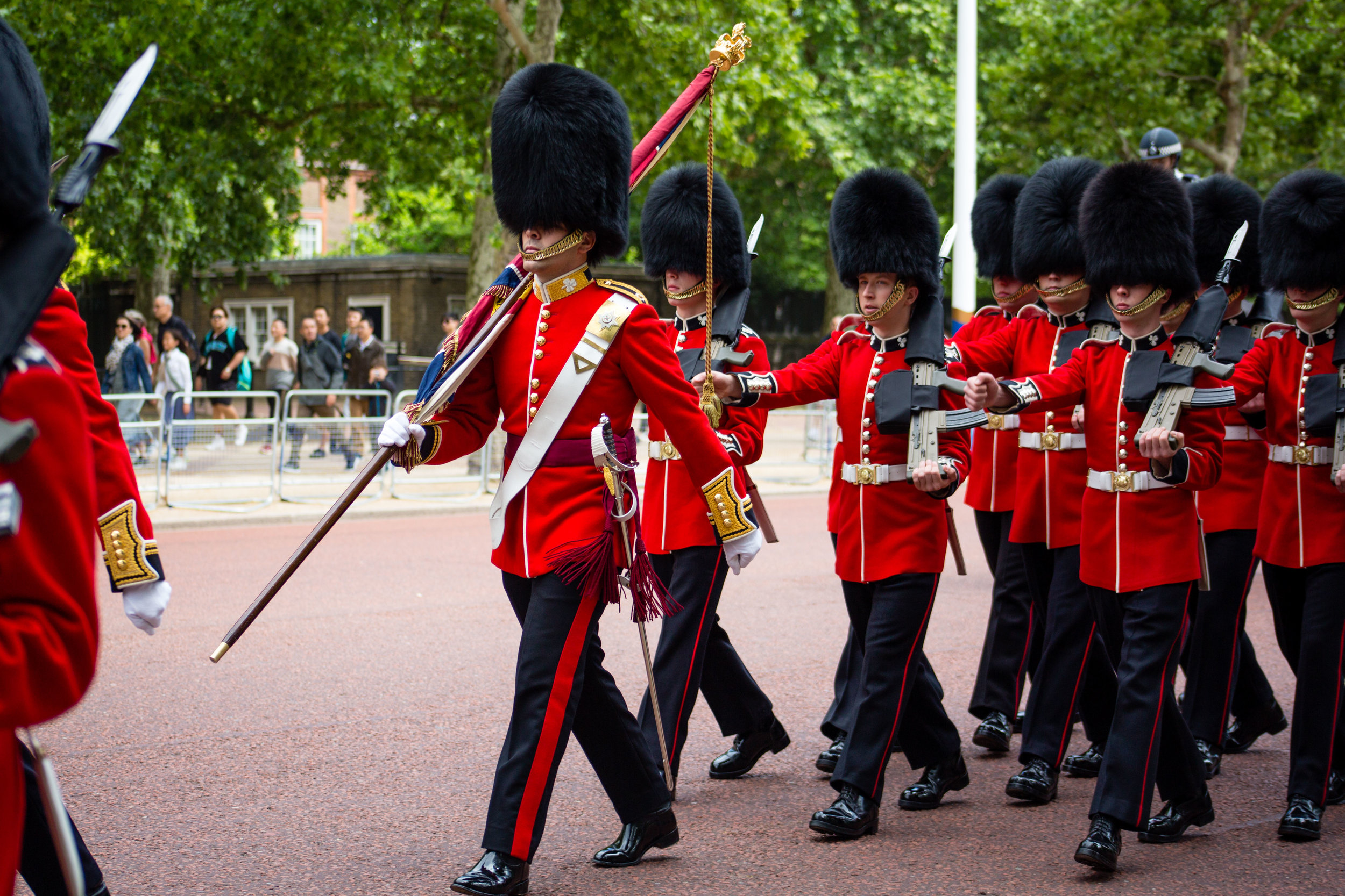 Part of the Household Cavalry(?)