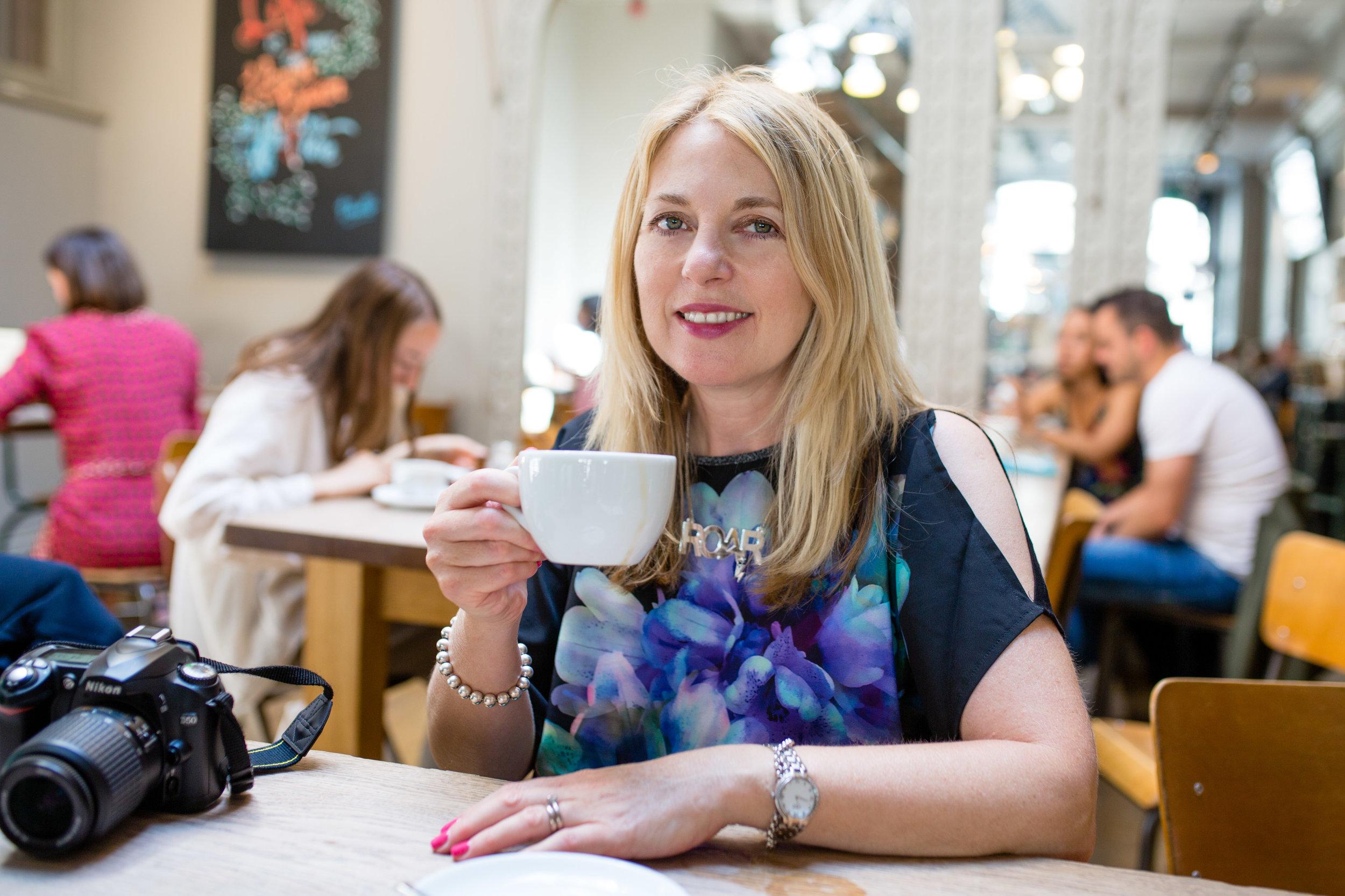 Claire Sparksman, fellow Digital Mum, founder of  www.besociallondon.com