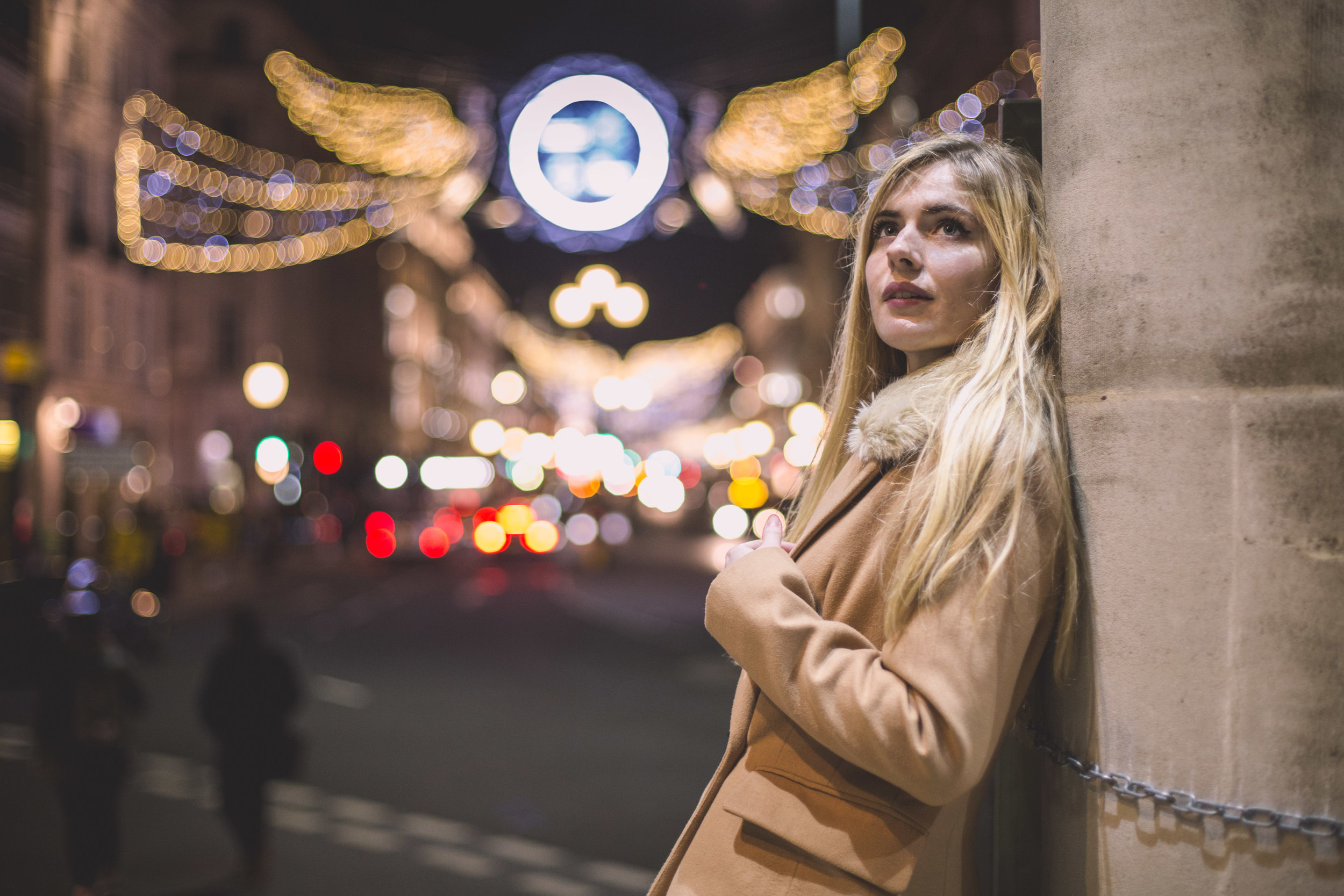 Bokeh Regents Street Diana von R Christmas Lights