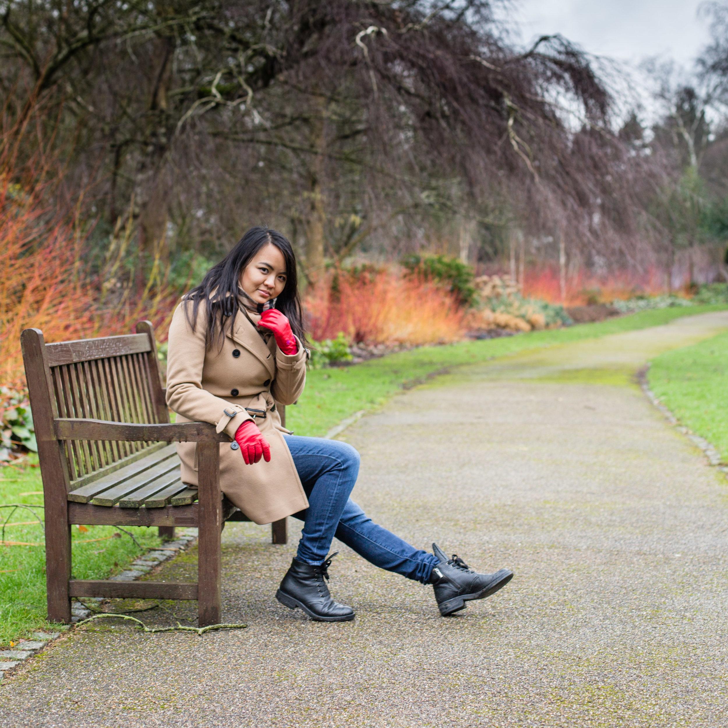 Golders Hill Park. Travel Diana Von R London Photographer NW3