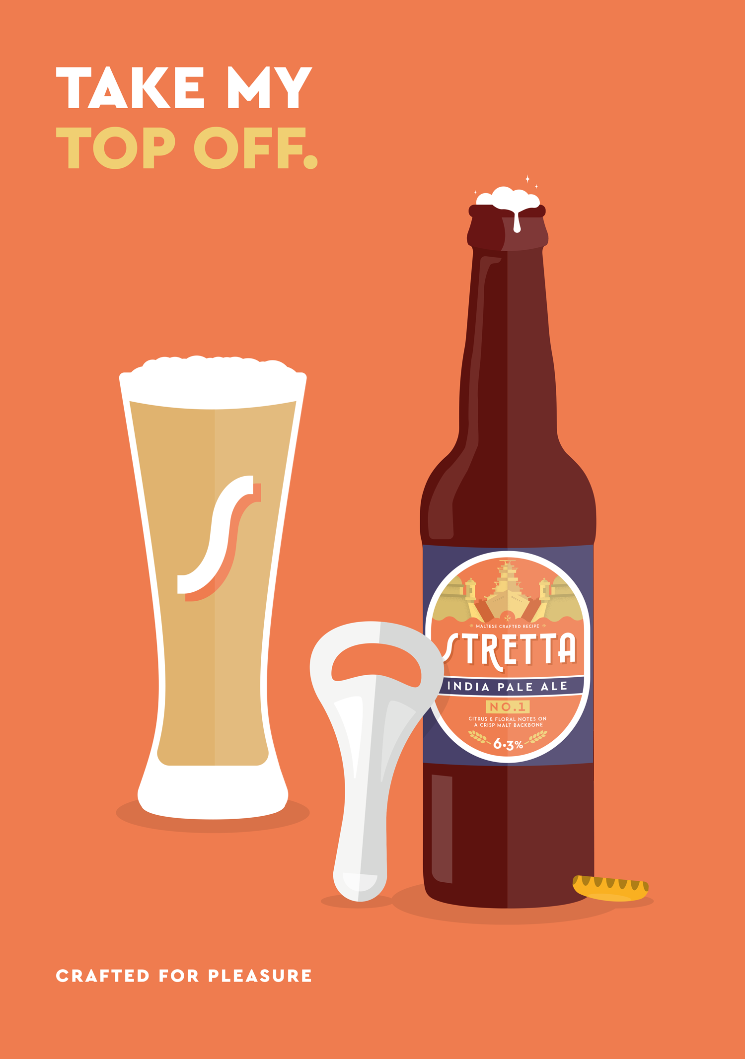 Posters for Stretta Craft Beer