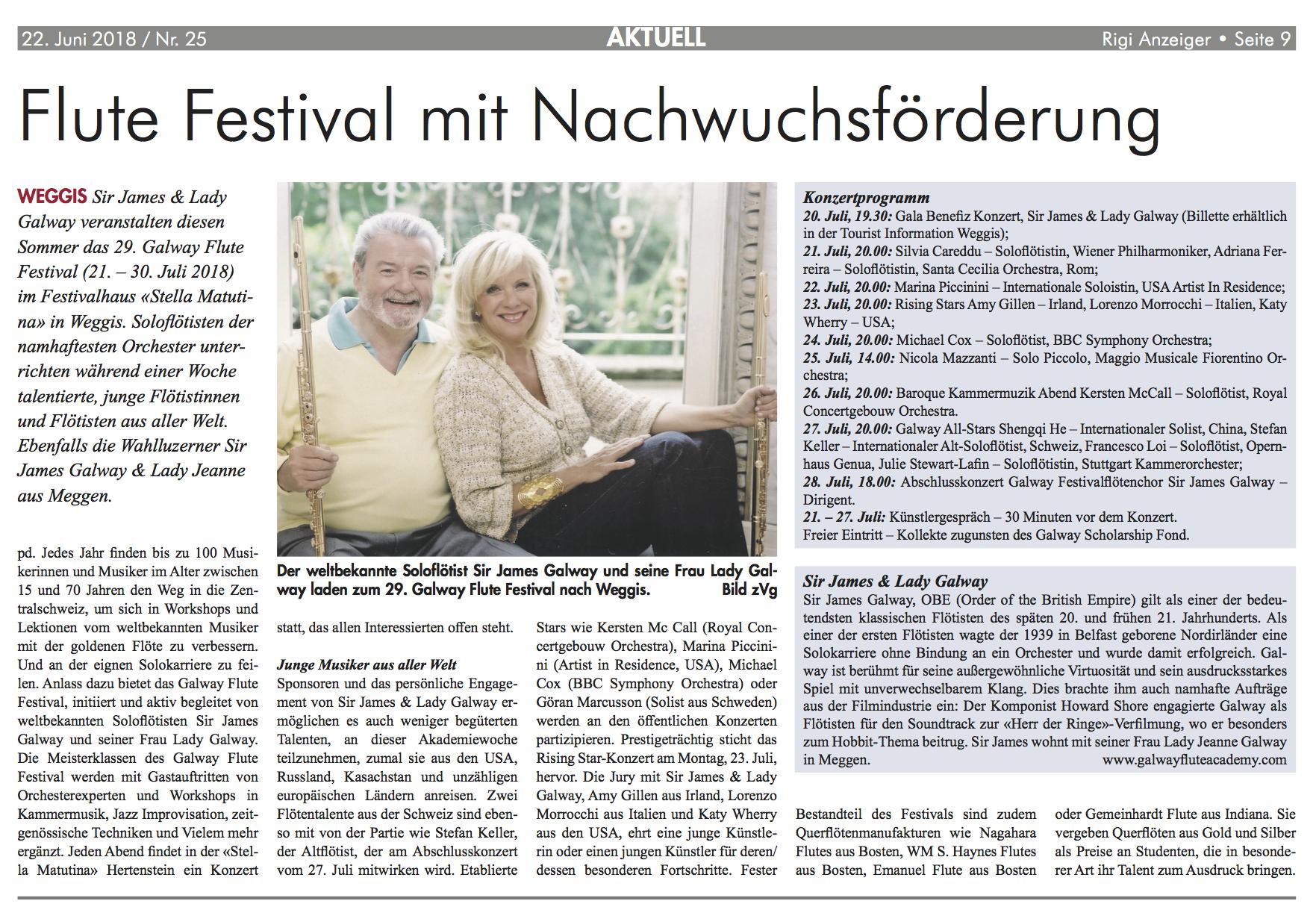 Rigi Anzeiger_22 06 2018_Flute Festival.png