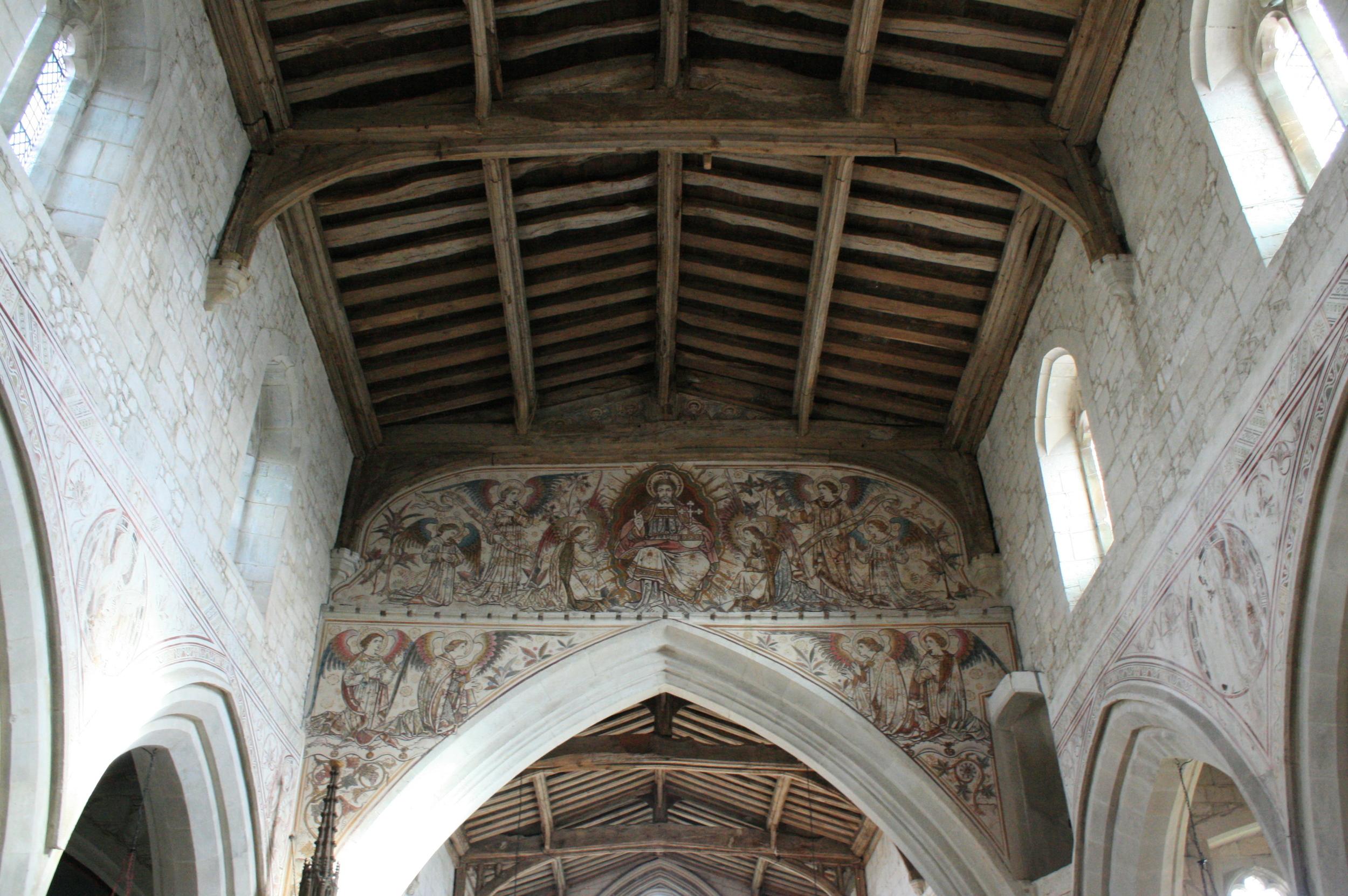 15th Century roof