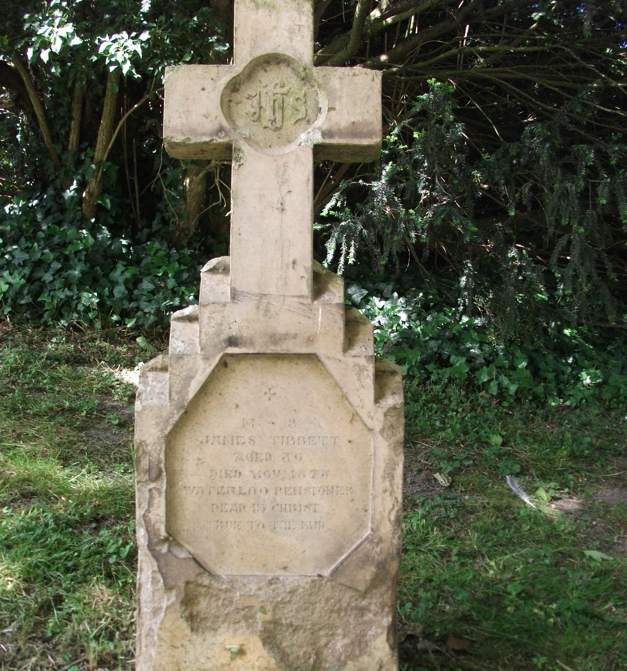 The grave stone