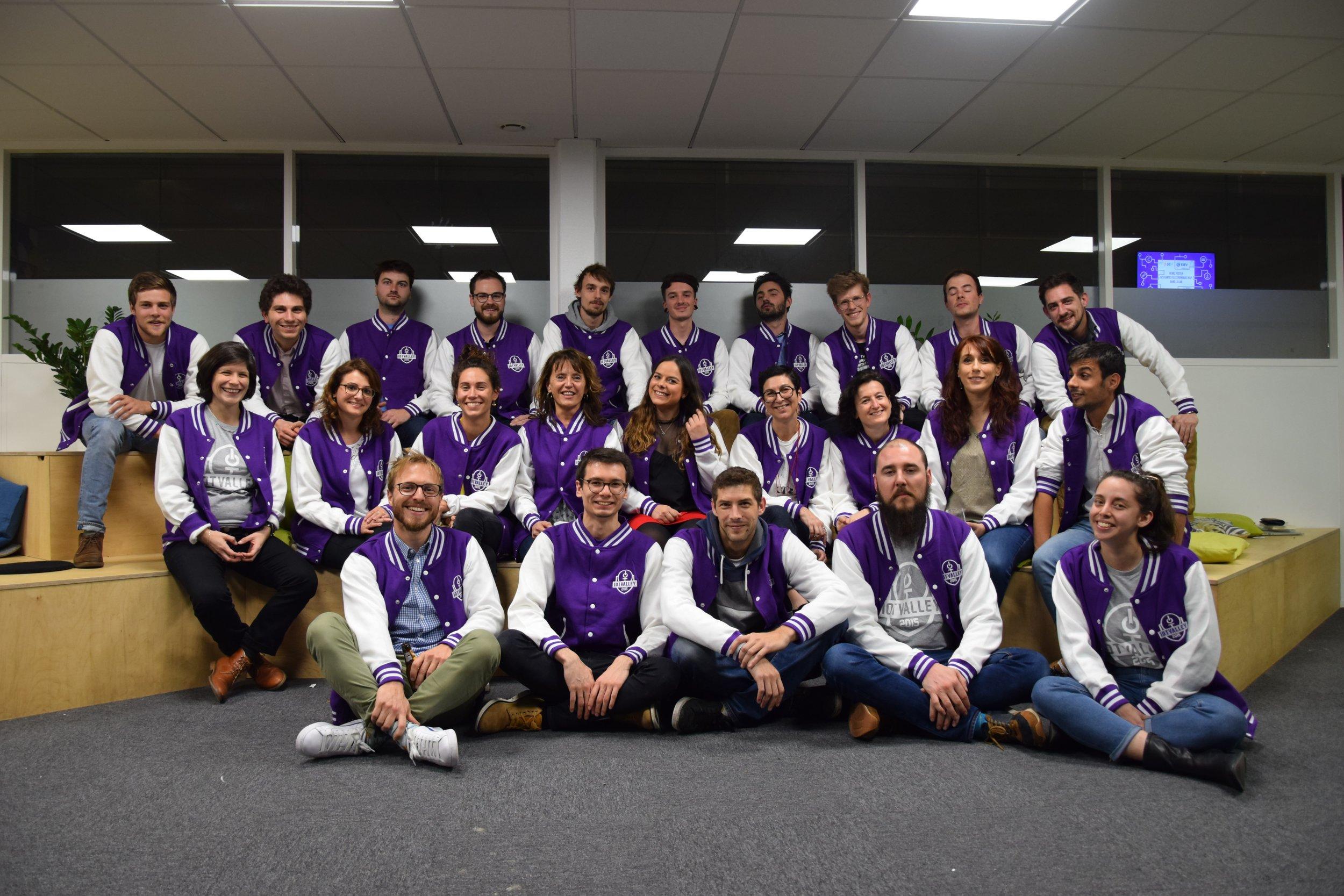 équipe de l'Iot Valley