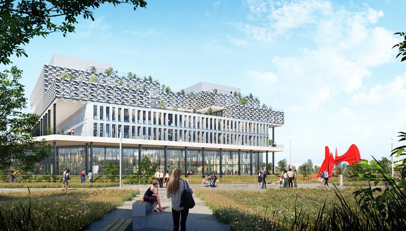 La construction du 1er bâtiment du futur campus de l'IoT Valley est lancée