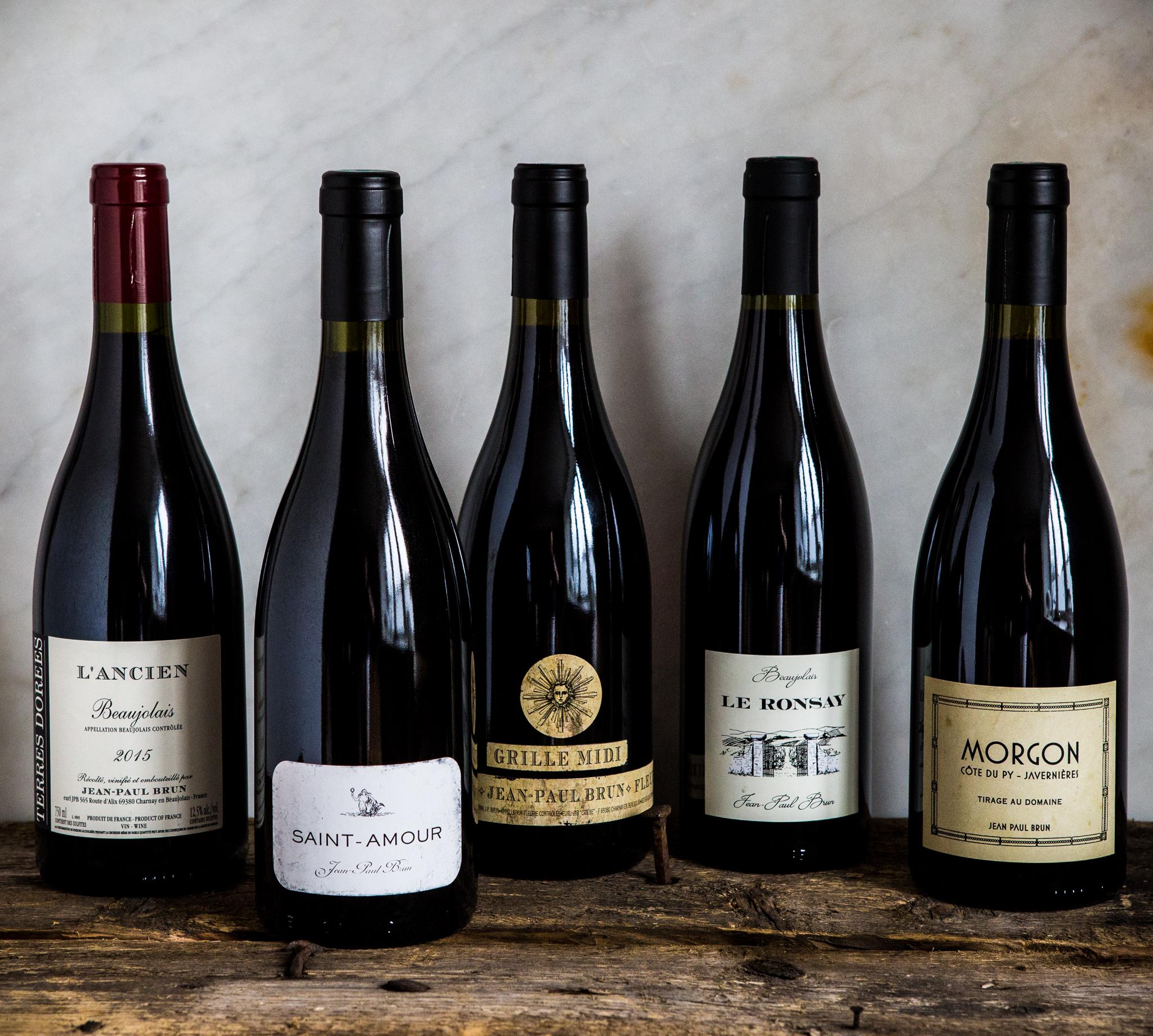 Jean-Paul Brun lagde meget elegante viner i 2015.