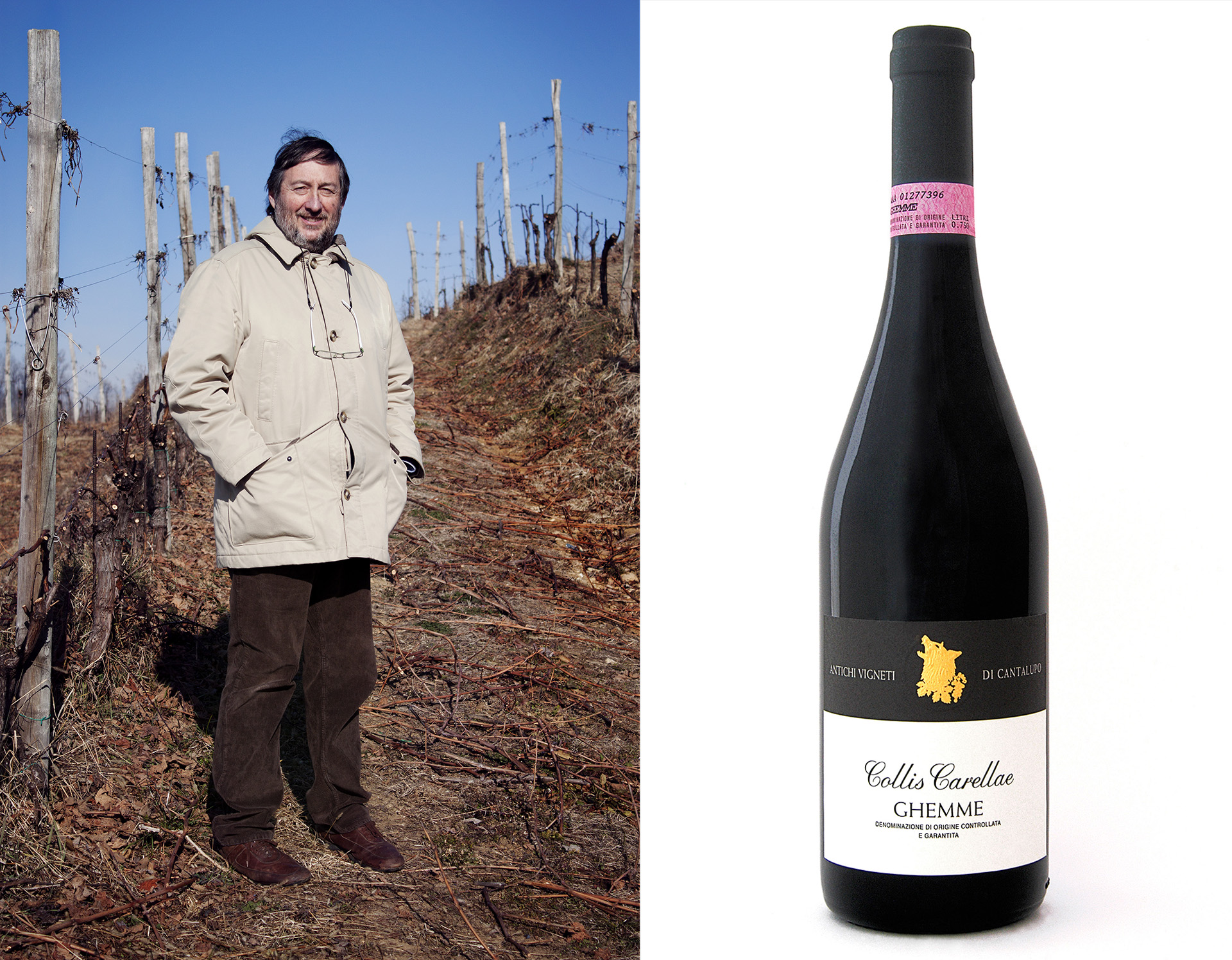 Bygdeoriginalen Alberto Arlunno lager noen av nordlige Piemontes flotteste viner.