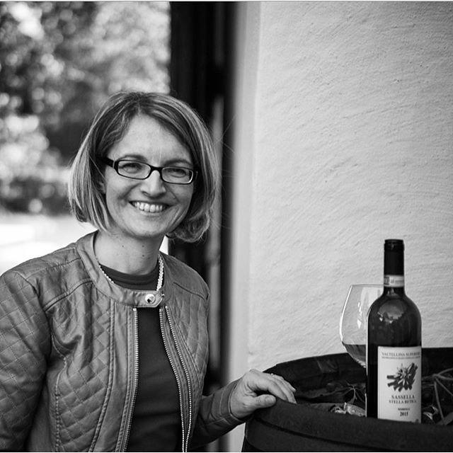 Very good tasting with Isabella from @arpepe1860. Elegant alpine nebbiolo wines from Sondrio, Lombardia 🍇👌🏼Thank you so much! #arpepe #chiavennasca #nebbiolo #enotriavin @vinforum.no @nondosfanclub #ilgiustotempodelnebbiolo